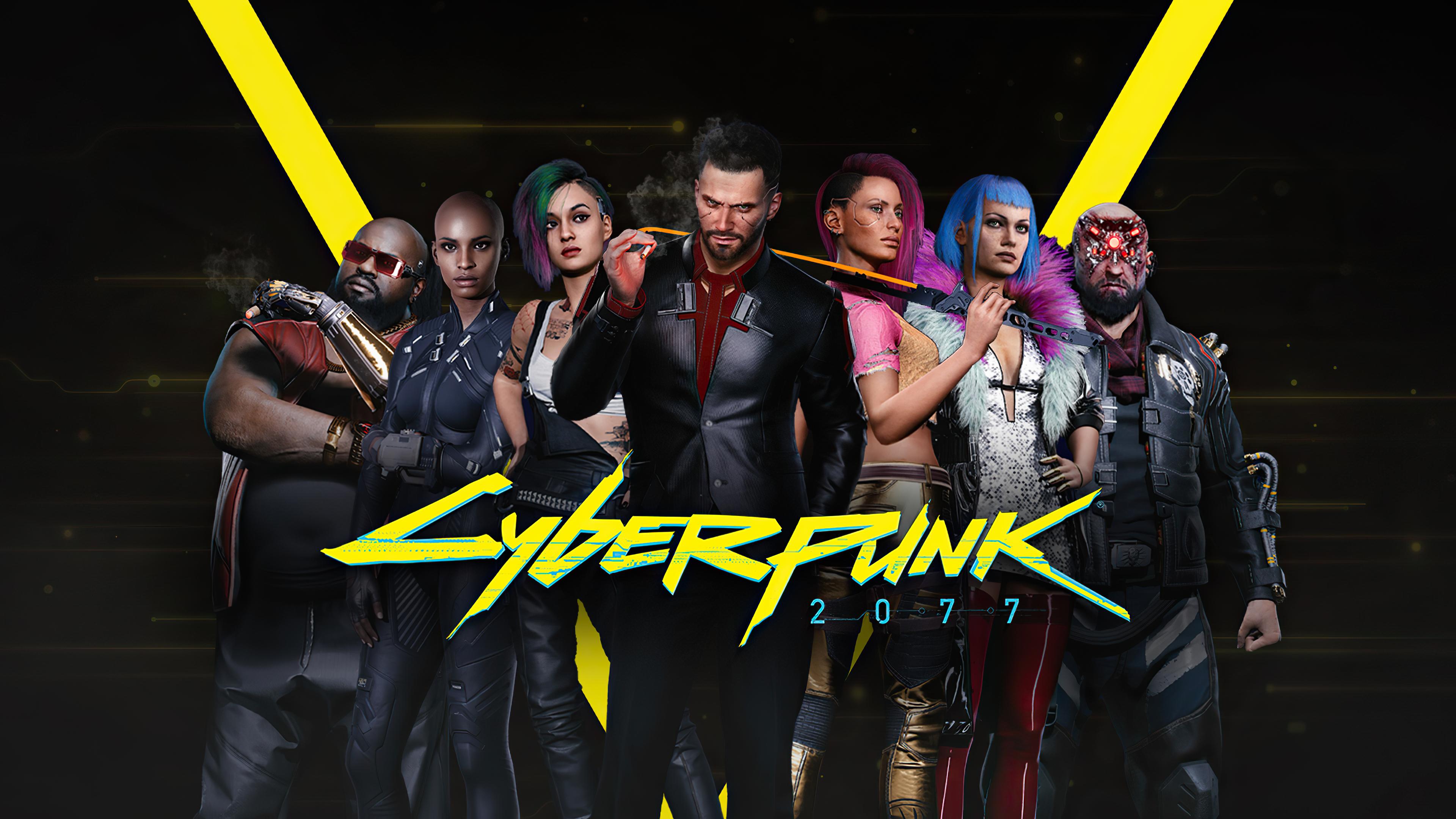 Cyberpunk 2077 4k Characters Wallpaper, HD Games 4K ...