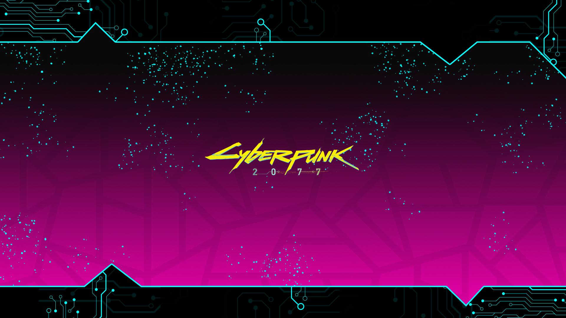 1920x1080 Cyberpunk 2077 Background Logo 1080P Laptop Full ...