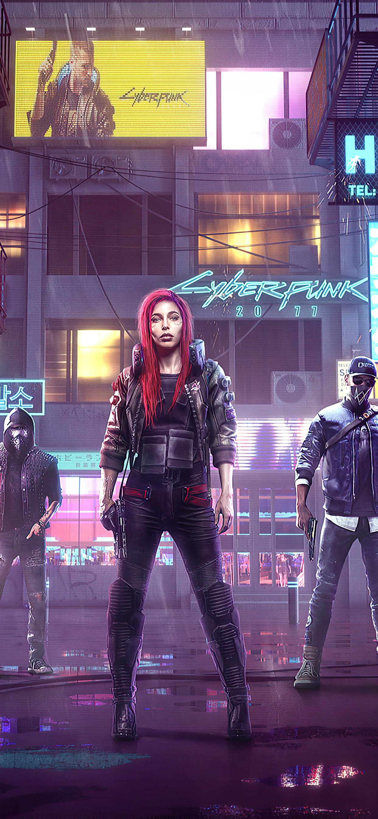 1242x2688 Cyberpunk 2077 Game Poster Iphone XS MAX ...