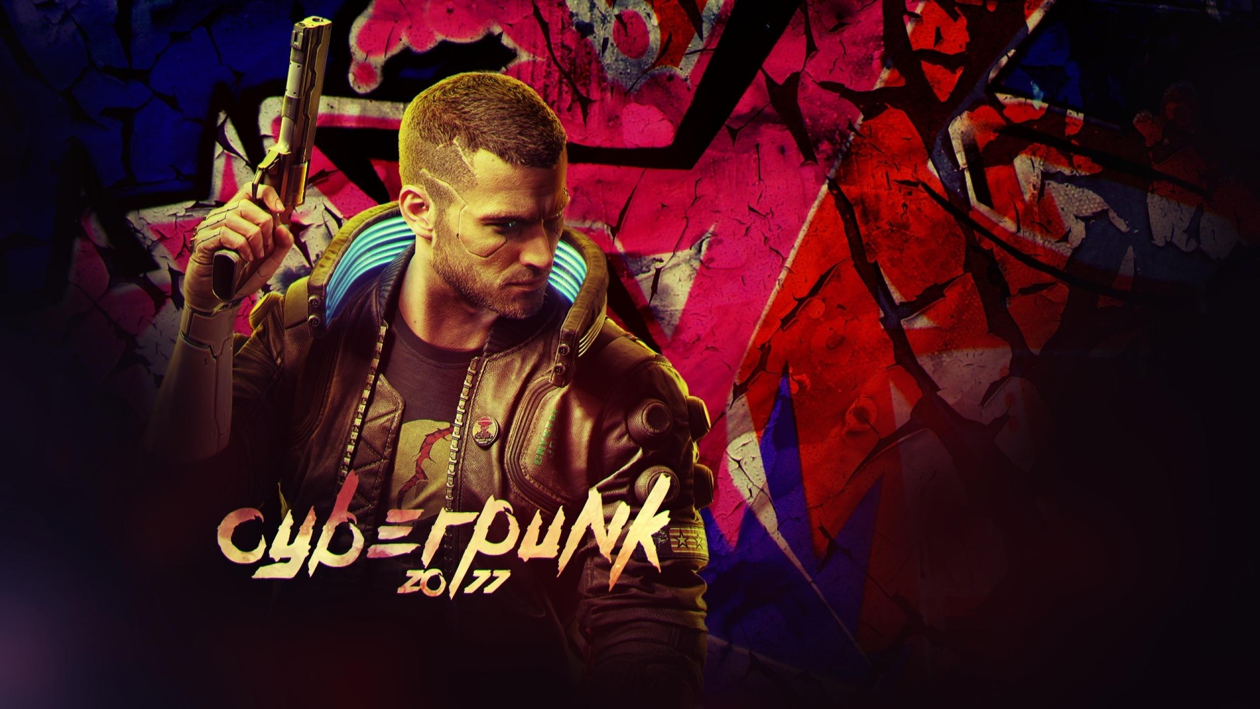 2560x1440 Cyberpunk 2077 Game 1440P Resolution Wallpaper ...