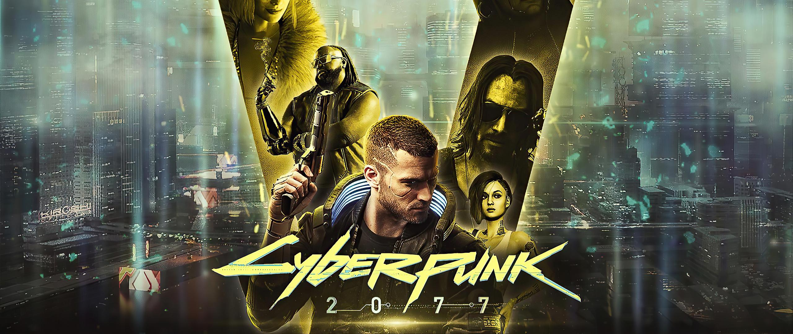 2560x1080 Cyberpunk 2077 Gold 2560x1080 Resolution ...