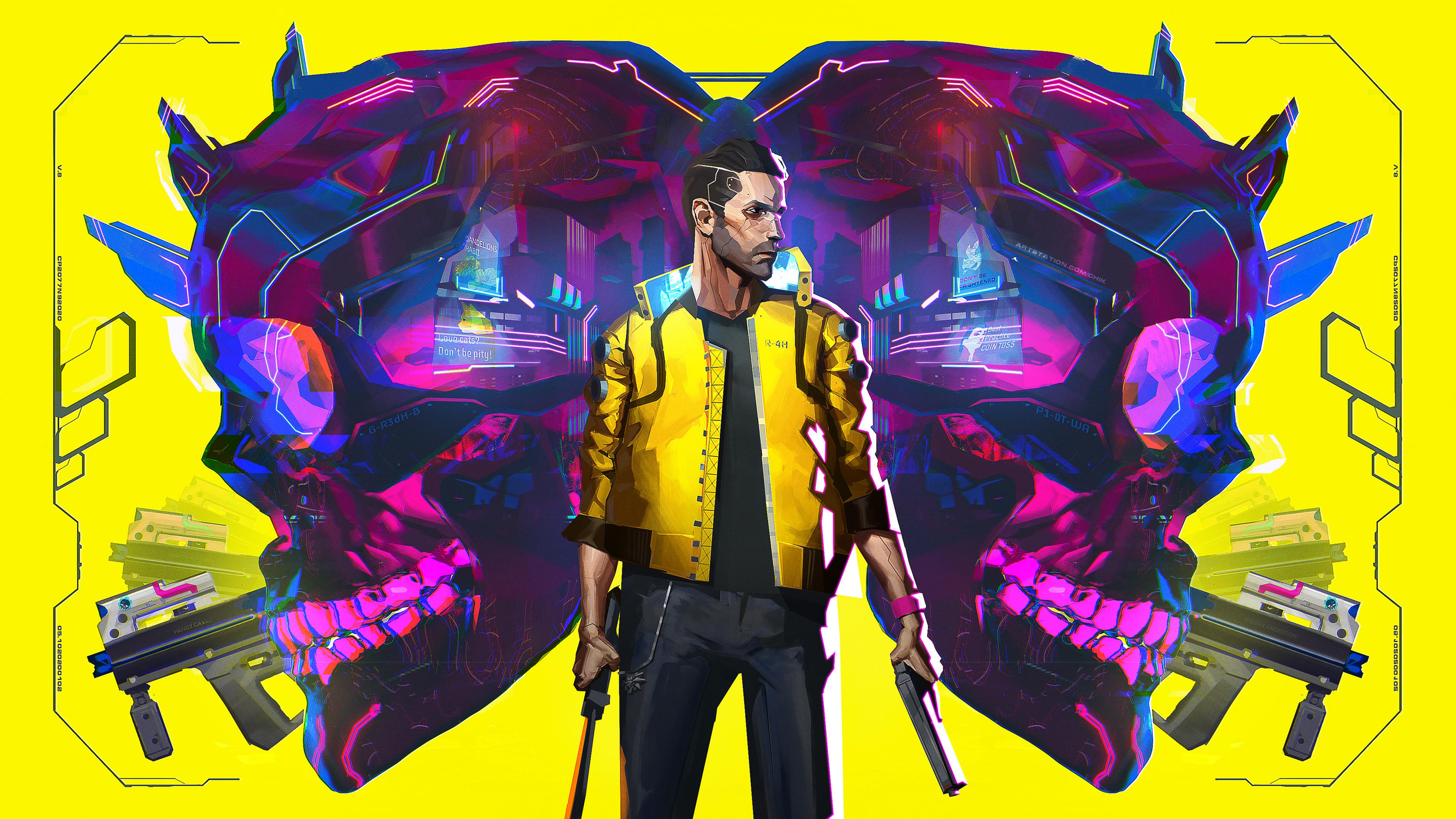 Cyberpunk 2077 Illustration 2020 Wallpaper, HD Games 4K ...