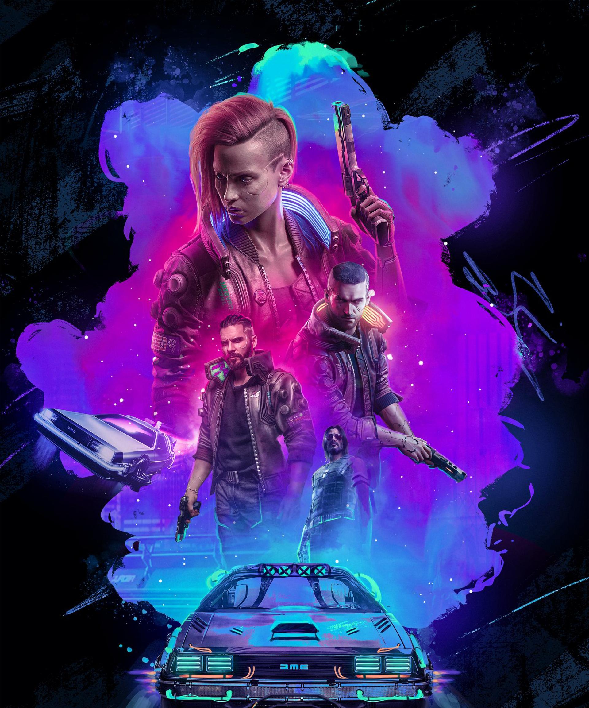 Cyberpunk 2077 Official Poster Wallpaper, HD Games 4K ...
