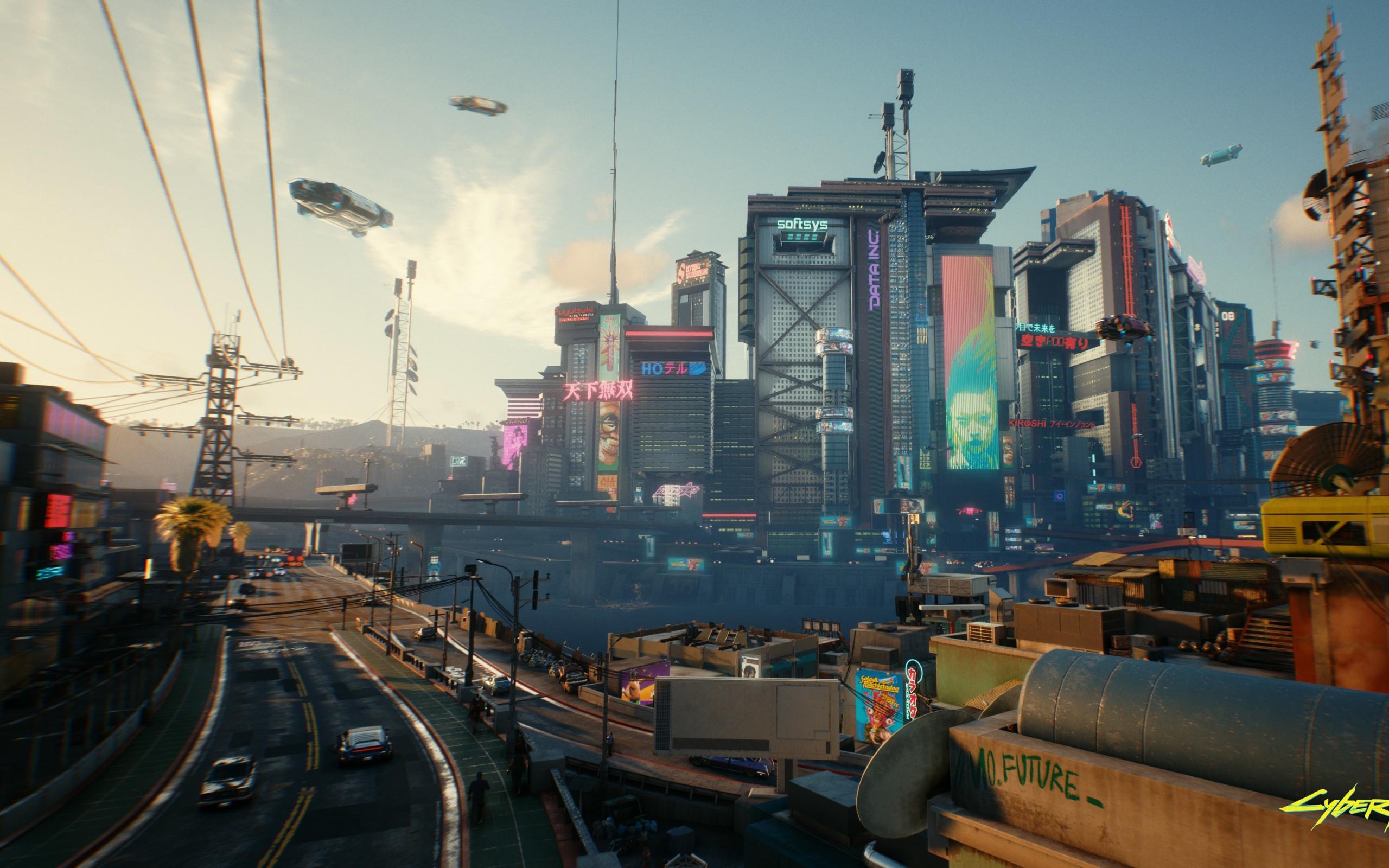 2560x1600 Cyberpunk 2077 Samurai City 2560x1600 Resolution ...