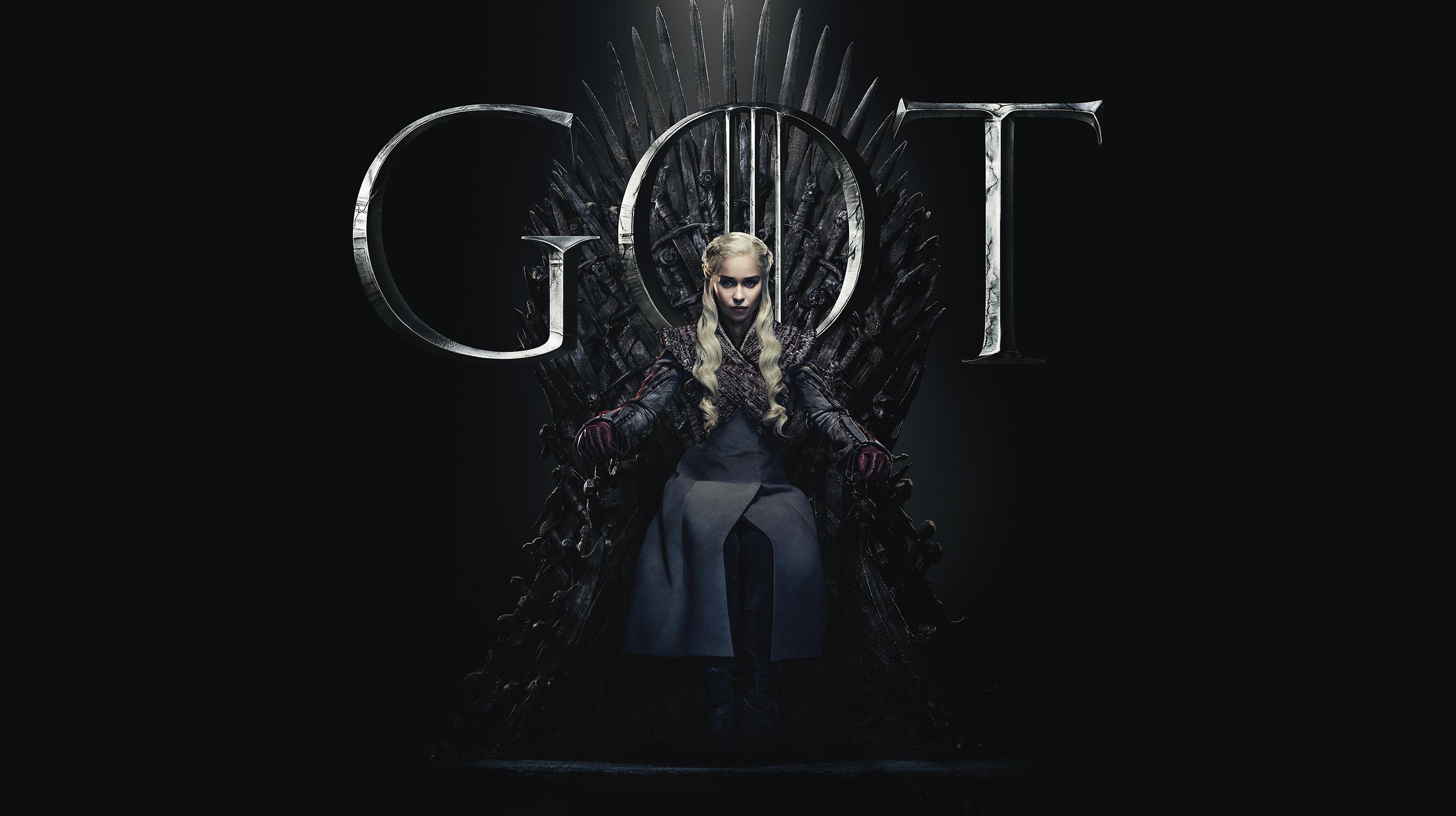 Daenerys Targaryen Game Of Thrones Season 8 Poster Wallpaper Hd