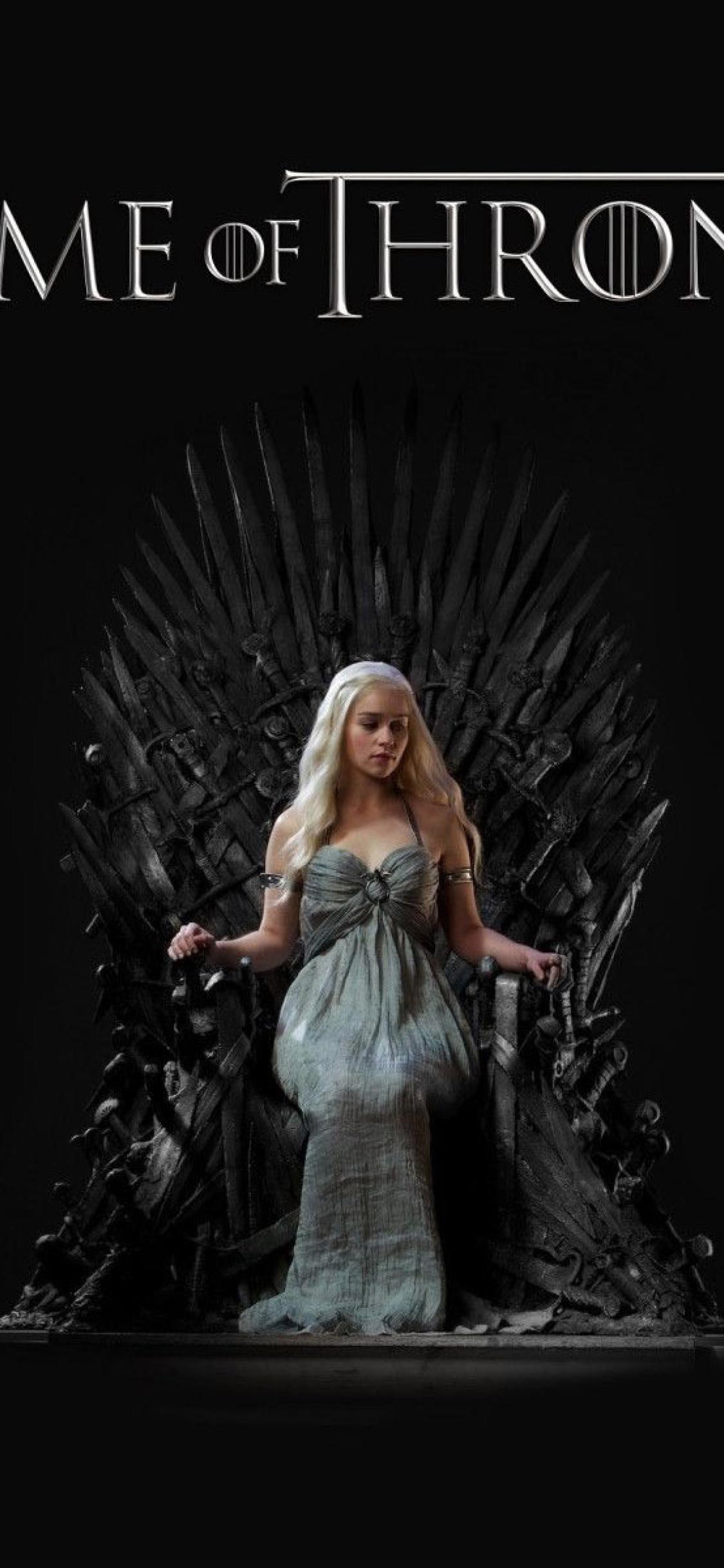 1125x2436 Daenerys Targaryen Game Of Thrones Tv Show