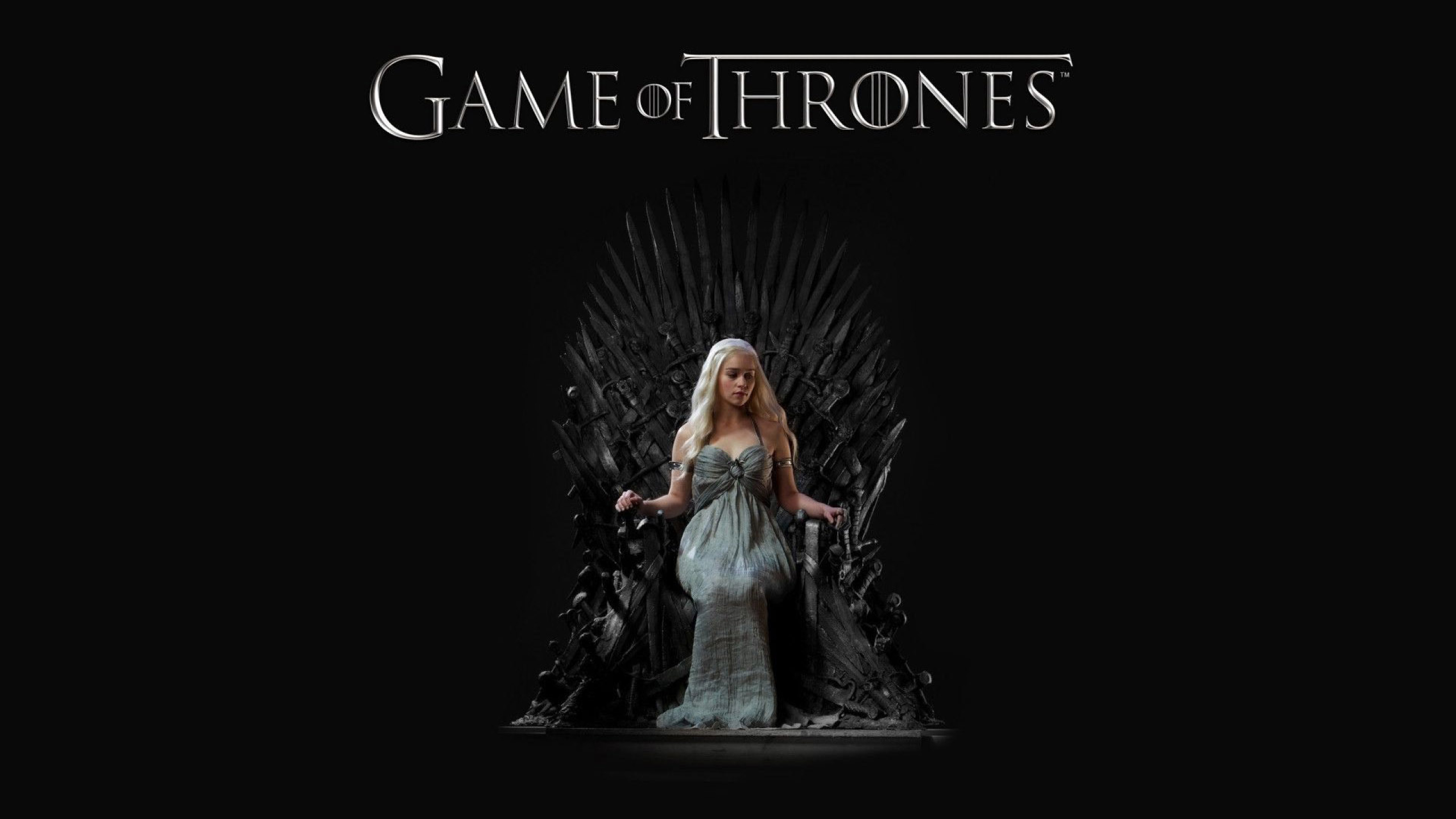 2560x1440 Daenerys Targaryen Game Of Thrones Tv Show Wallpaper