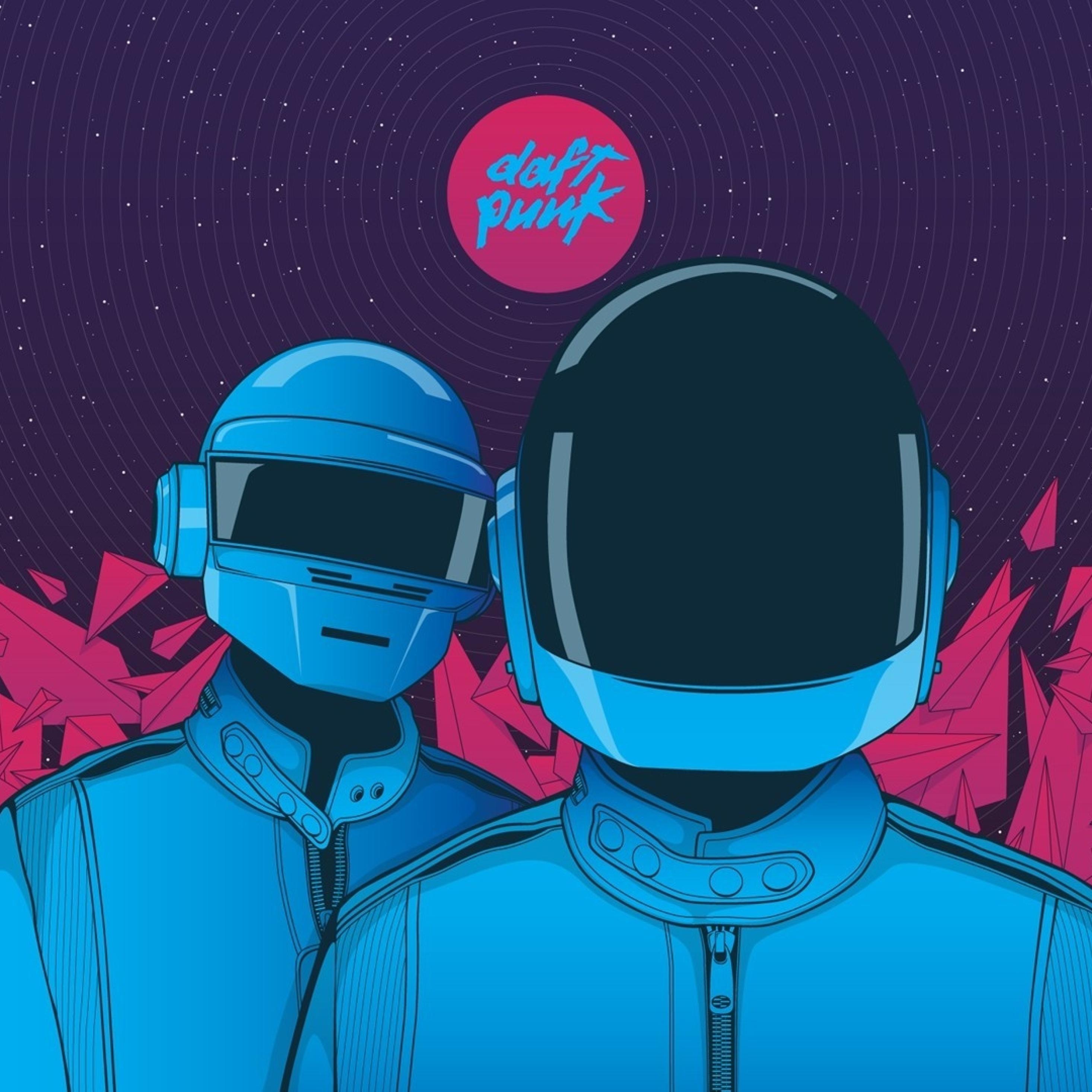 Punk Wallpaper: Daft Punk, Graphic, Helmet, Full HD Wallpaper