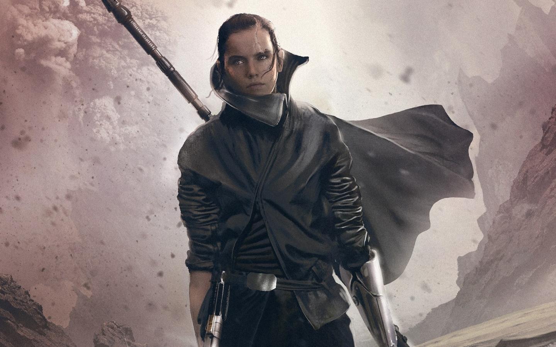 Daisy Ridley As Rey In Star Wars The Last Jedi, Full HD