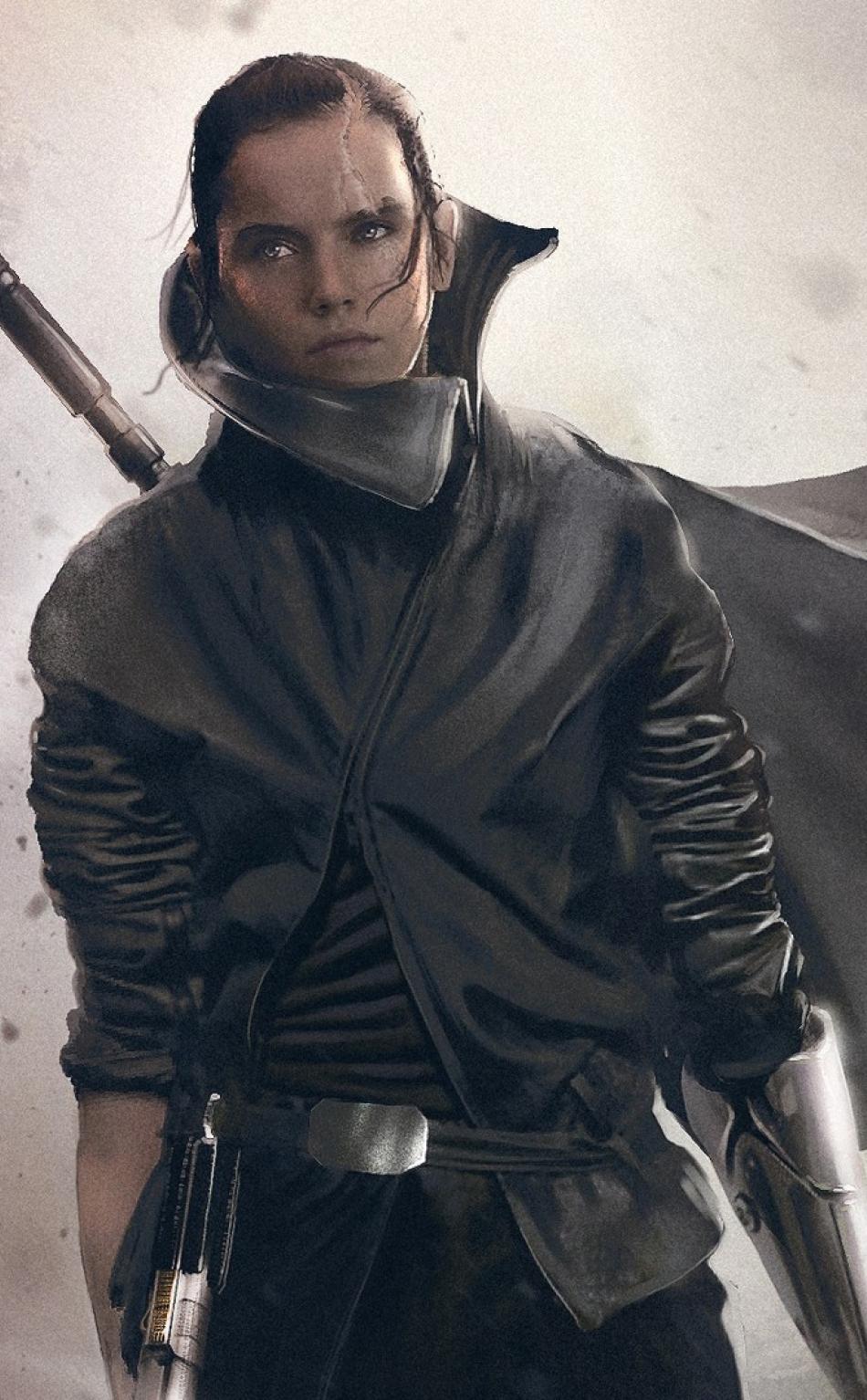 Daisy Ridley As Rey In Star Wars The Last Jedi Full Hd
