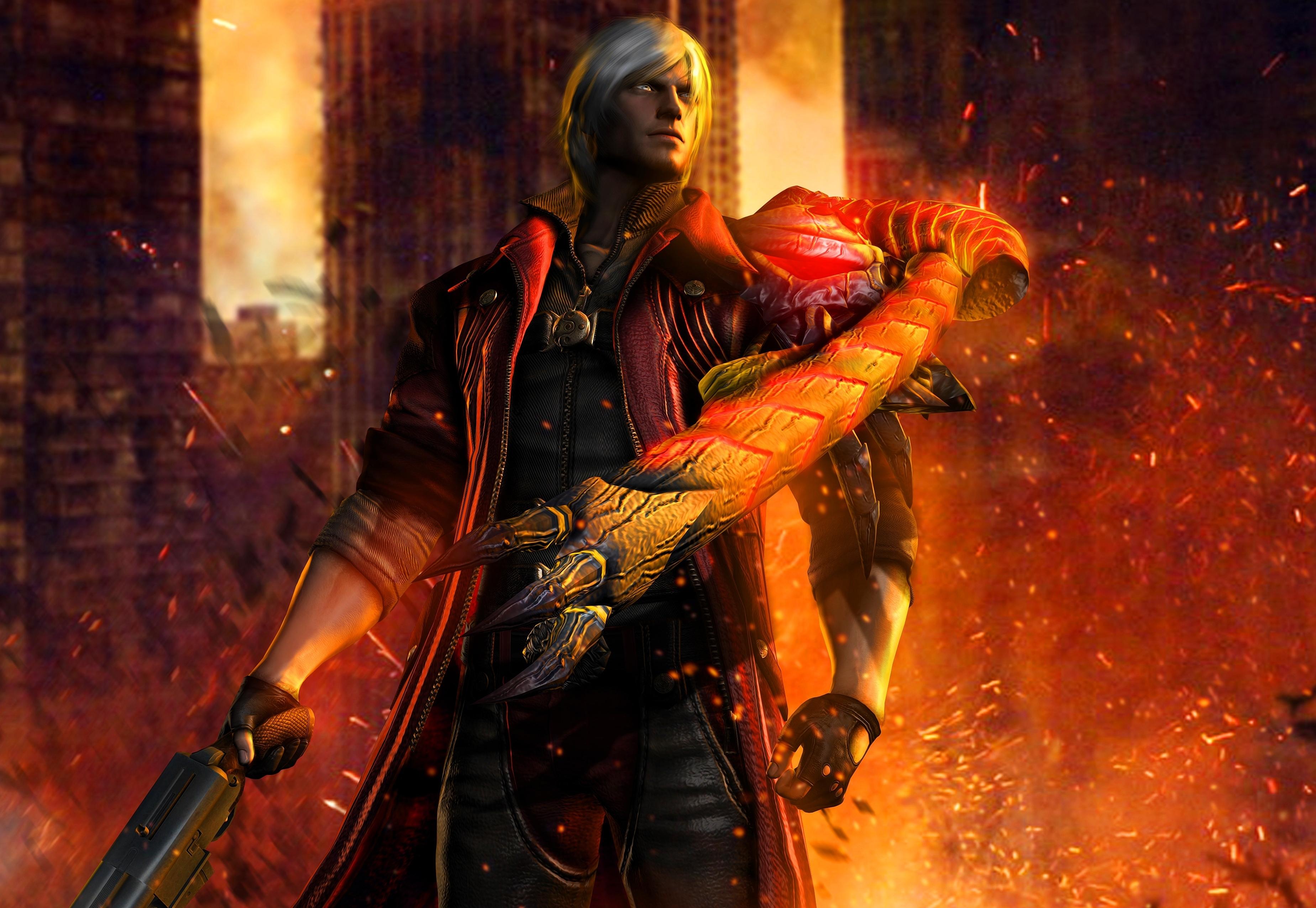 Dante Devil May Cry 4 Wallpaper, HD Games 4K Wallpapers ...