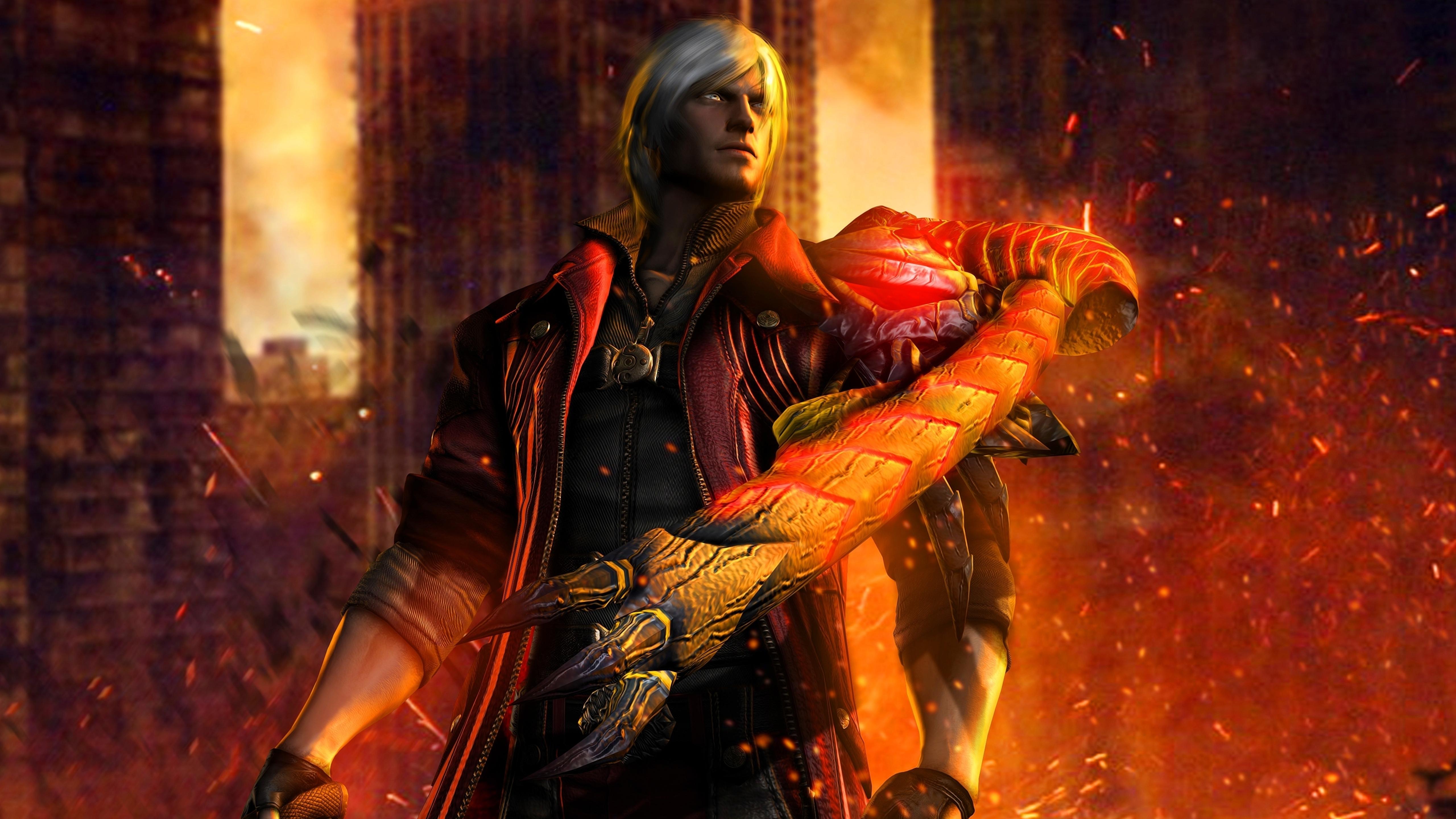5120x2880 Dante Devil May Cry 4 5k Wallpaper Hd Games 4k