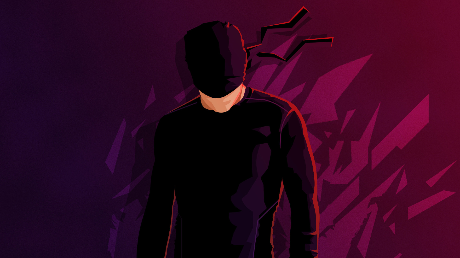 1920x1080 Daredevil Minimalism 1080p Laptop Full Hd Wallpaper Hd Minimalist 4k Wallpapers Images Photos And Background