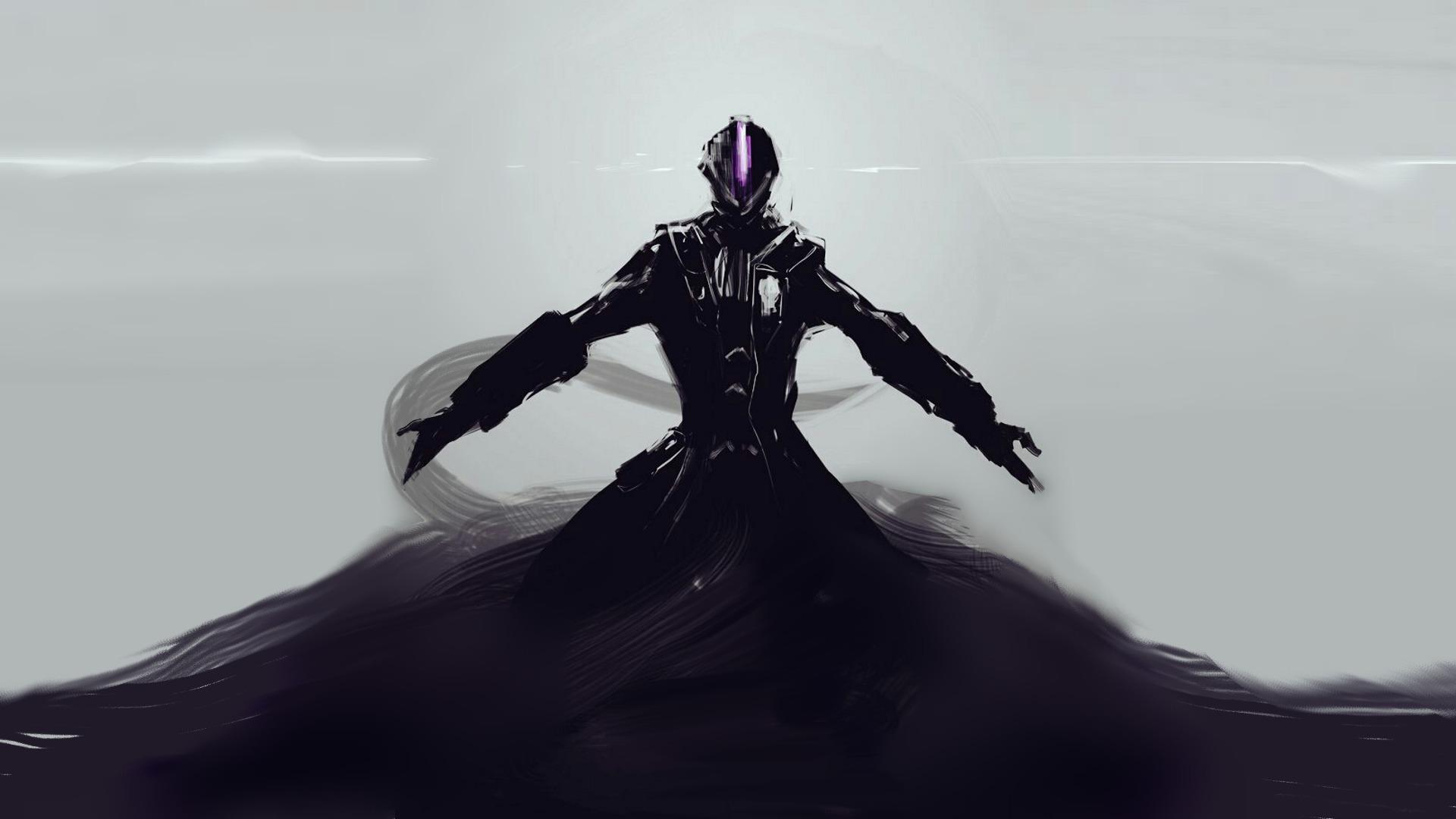 Dark Anime Creature Figure Art, Full HD Wallpaper