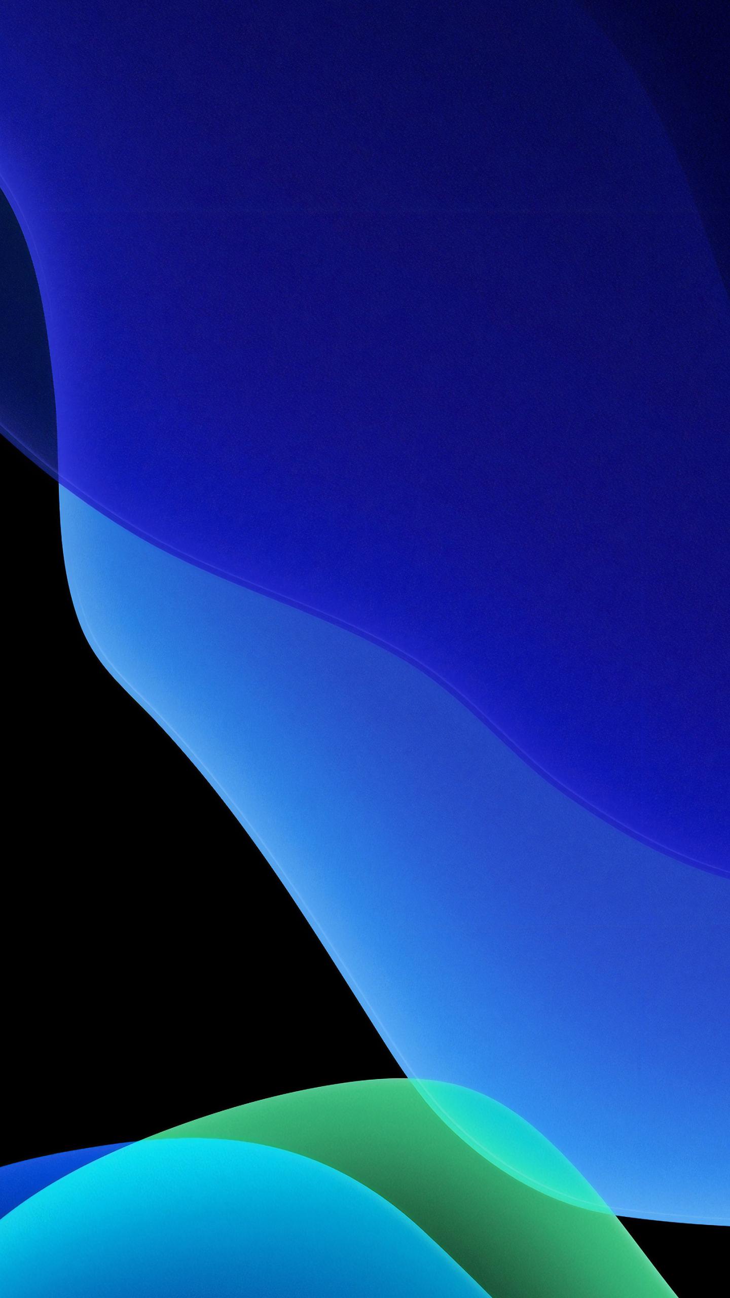 1440x2560 Dark Blue Ios 13 Apple Samsung Galaxy S6 S7 Google Pixel