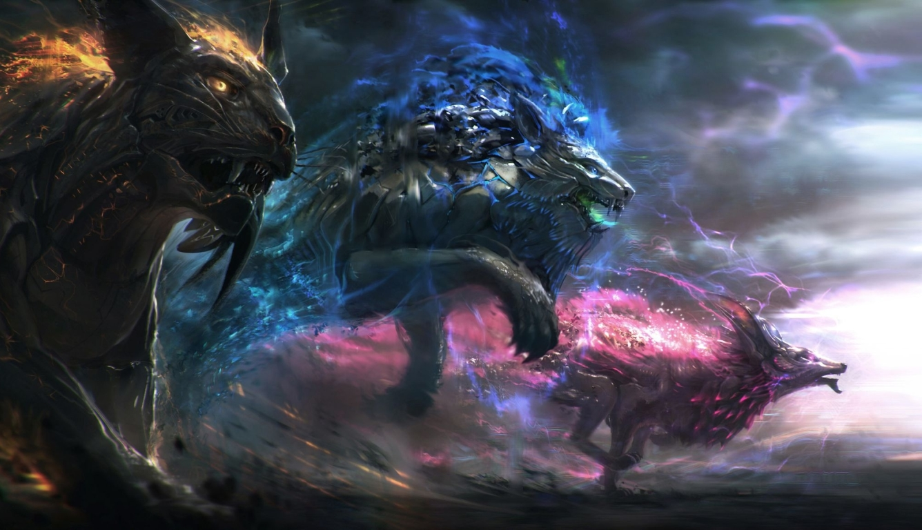 1336x768 Dark Fantasy Animals Hd Laptop Wallpaper Hd Fantasy 4k Wallpapers Images Photos And Background