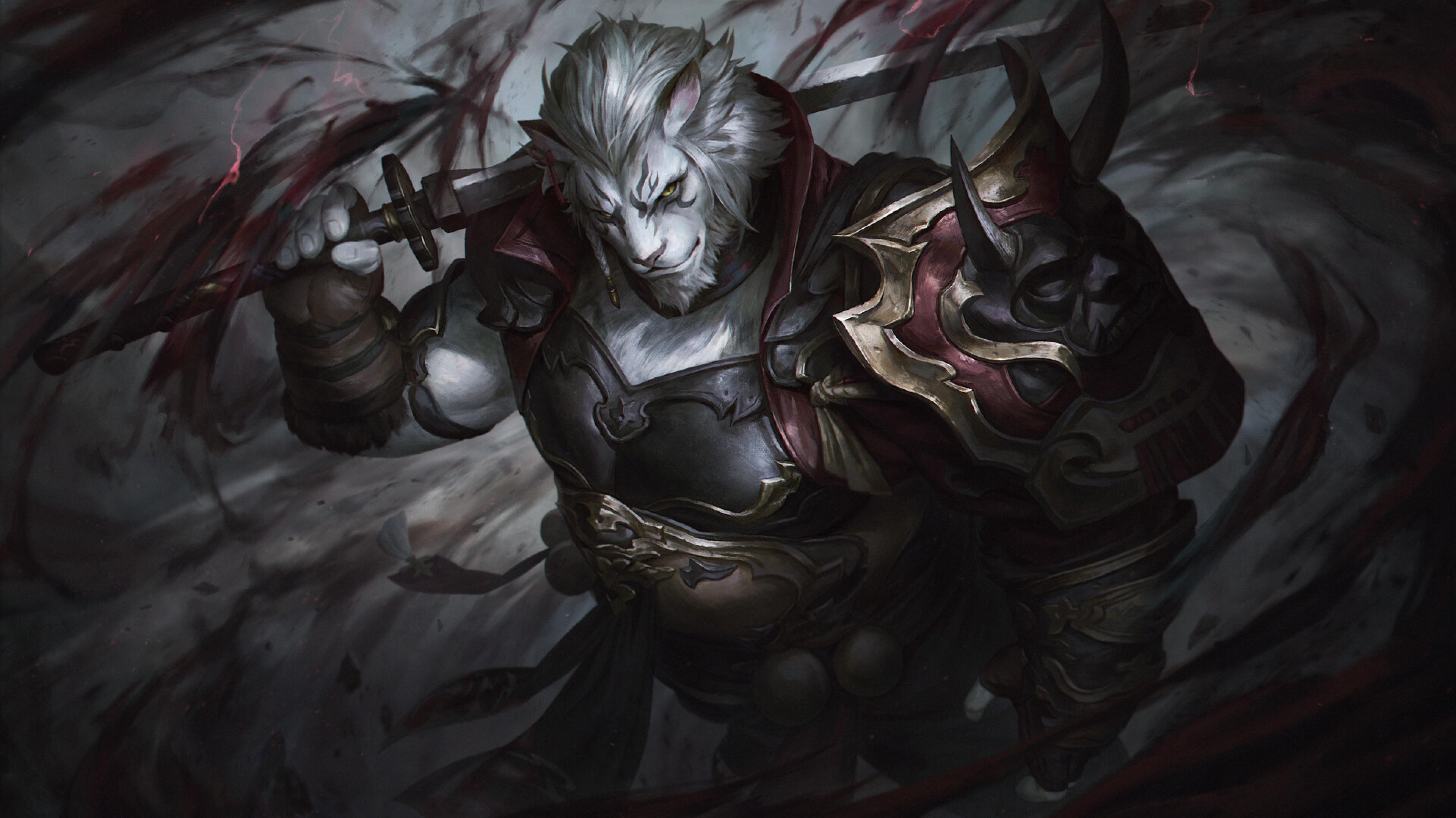 3840x2160 Dark Knight Final Fantasy Xiv 4k Wallpaper Hd Fantasy