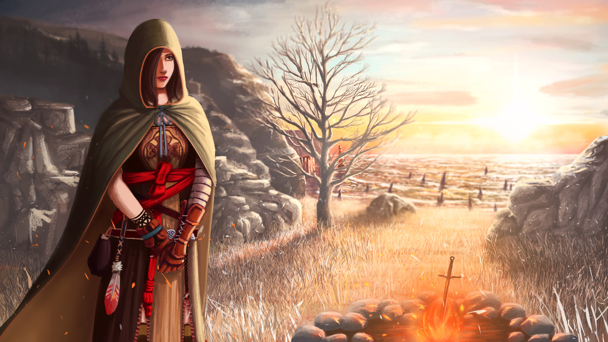 2560x1440 Dark Souls 2 Shanalotte Girl 1440p Resolution Wallpaper Hd Games 4k Wallpapers Images Photos And Background
