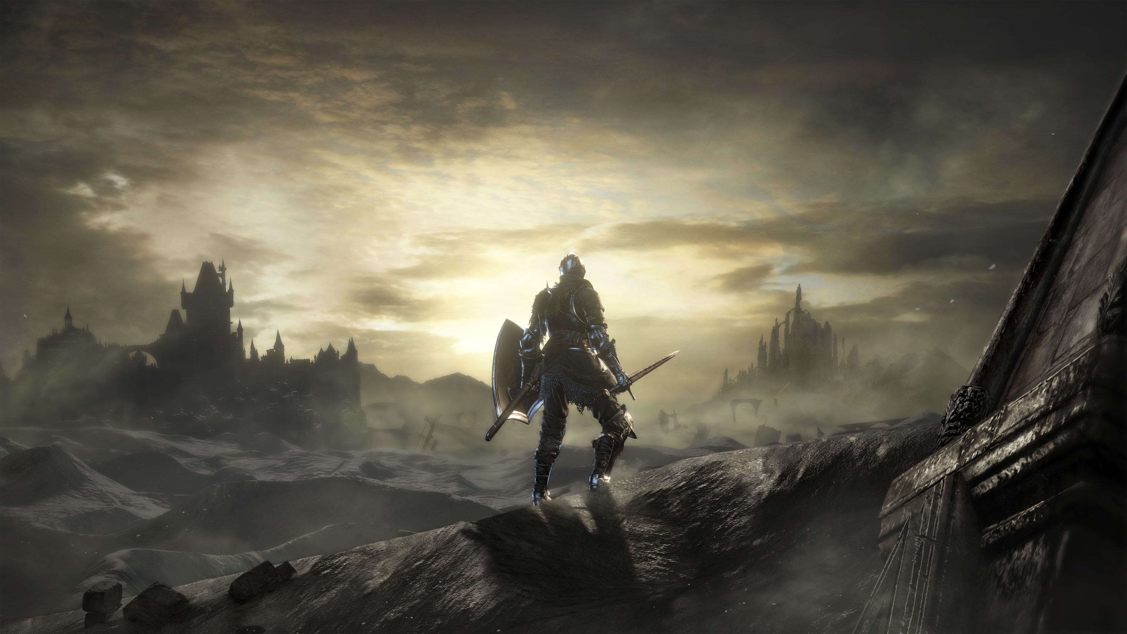 Dark Souls 3 Warrior, HD 4K Wallpaper