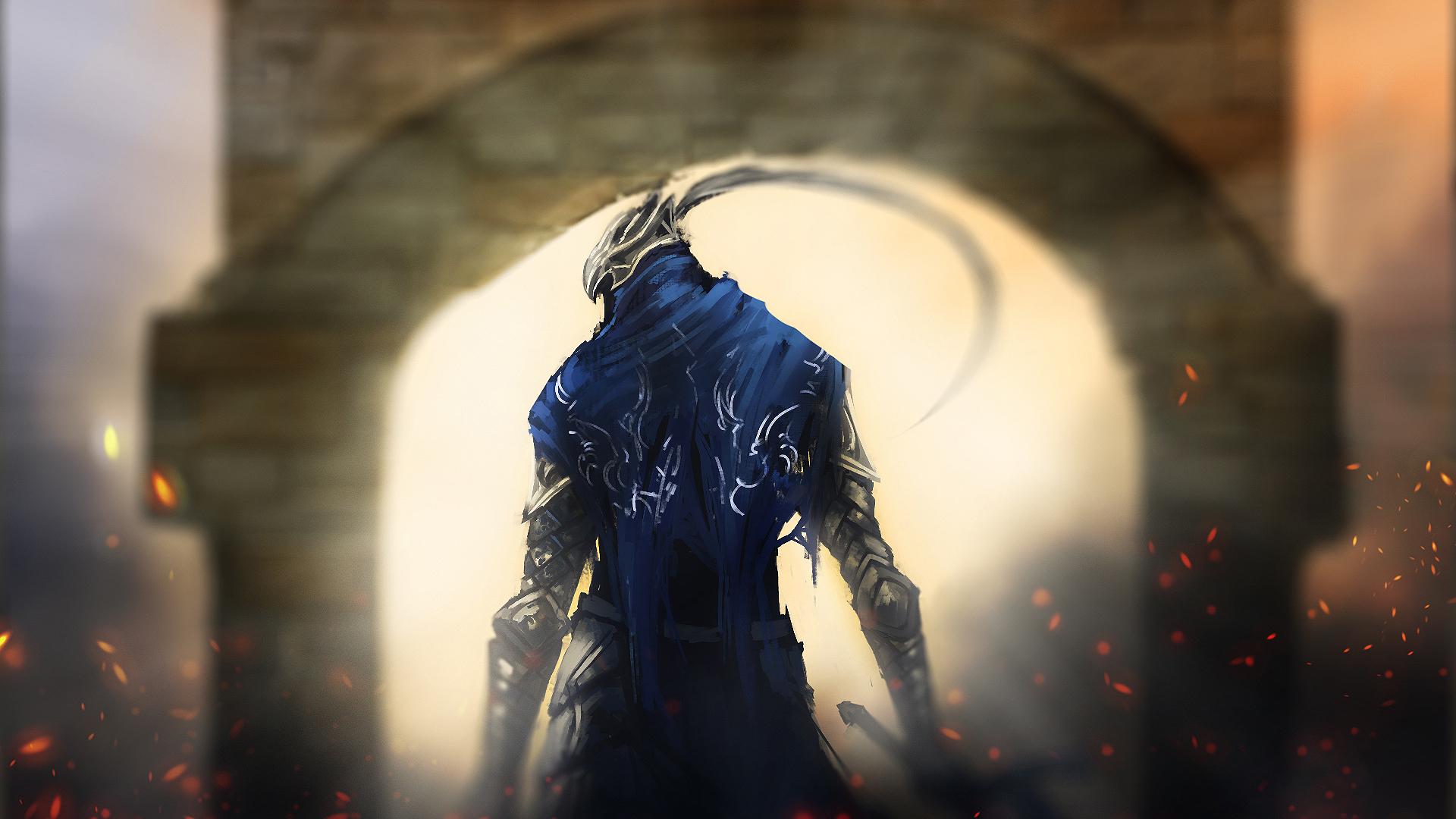 1920x1080 Dark Souls Gates Knight 1080p Laptop Full Hd