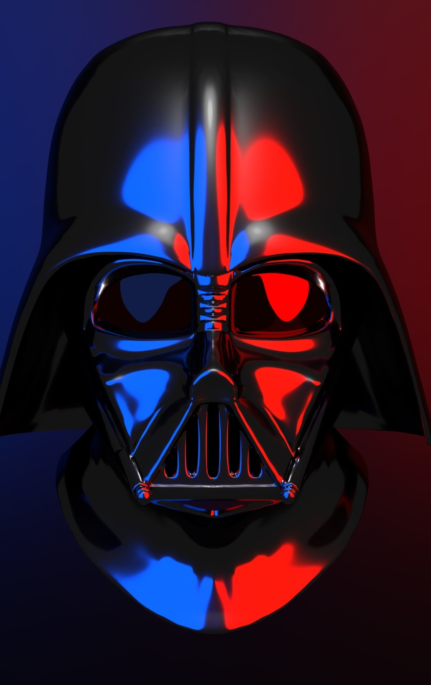 Download Darth Vader Star Wars Digital Artwork 240x400 Resolution