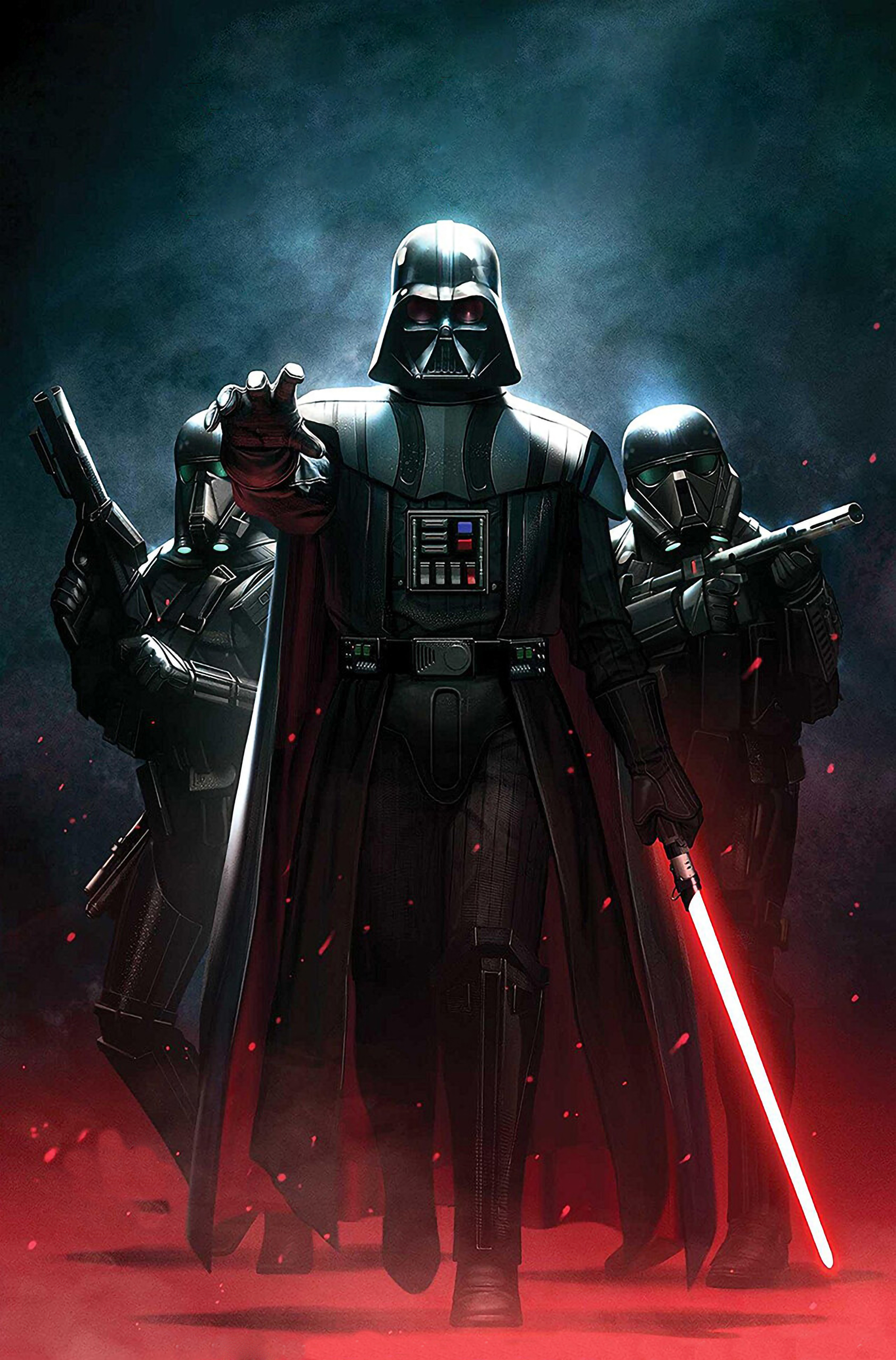 Darth Vedar Star Wars Art Wallpaper Hd Superheroes 4k