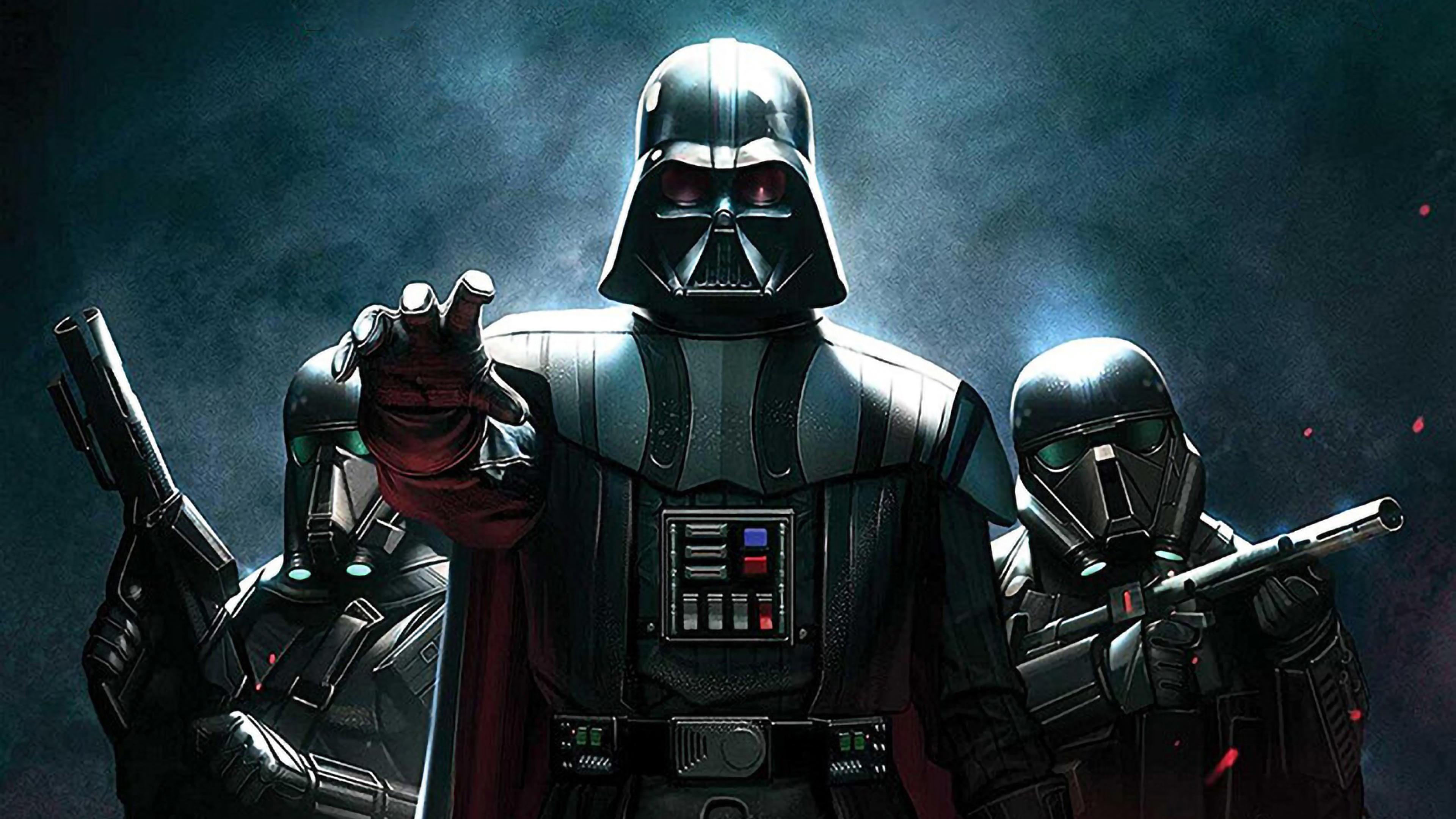 3840x2160 Darth Vedar Star Wars Art 4K Wallpaper, HD ...