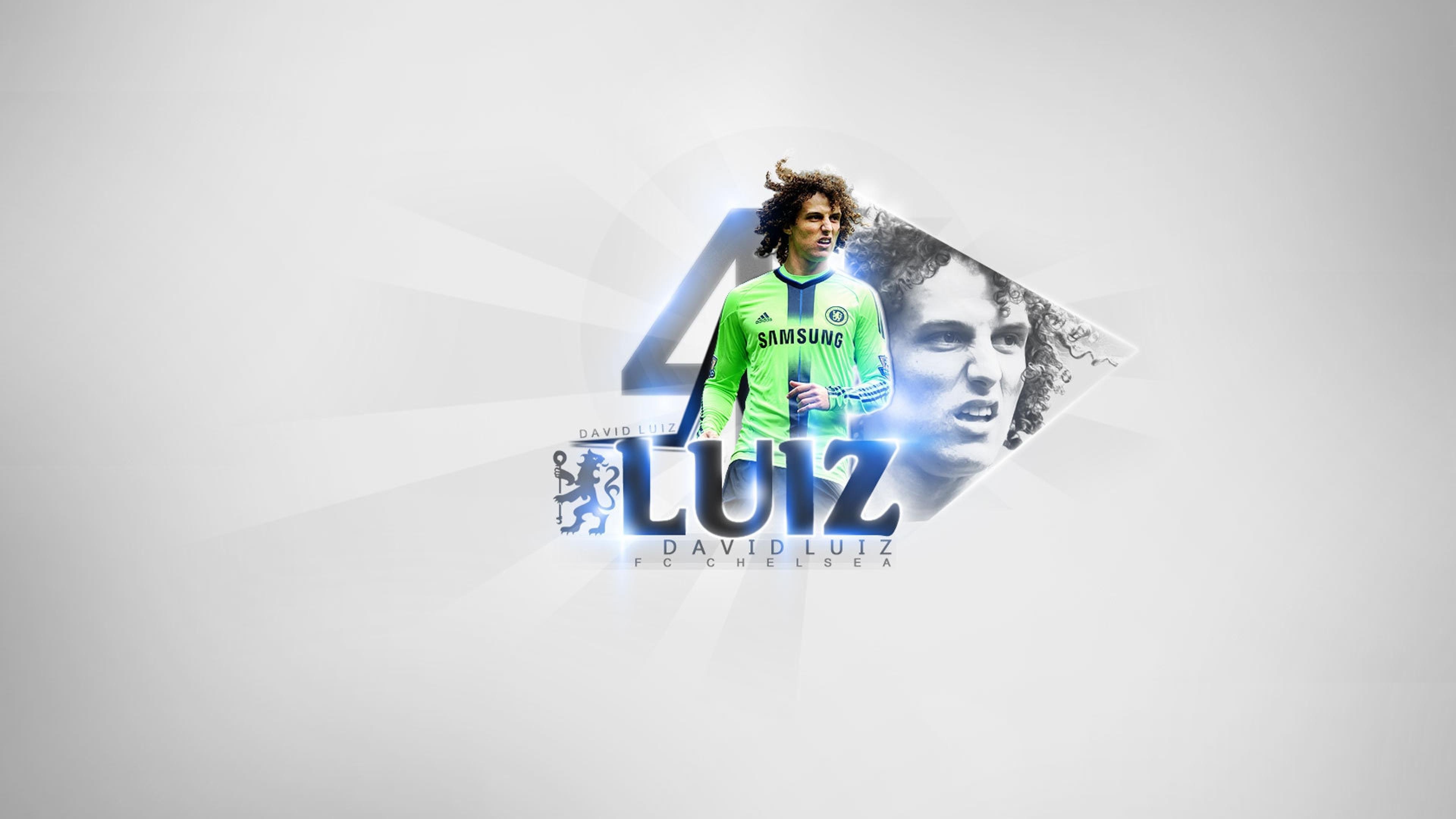 David Luiz, Chelsea, Footballer, Full HD Wallpaper