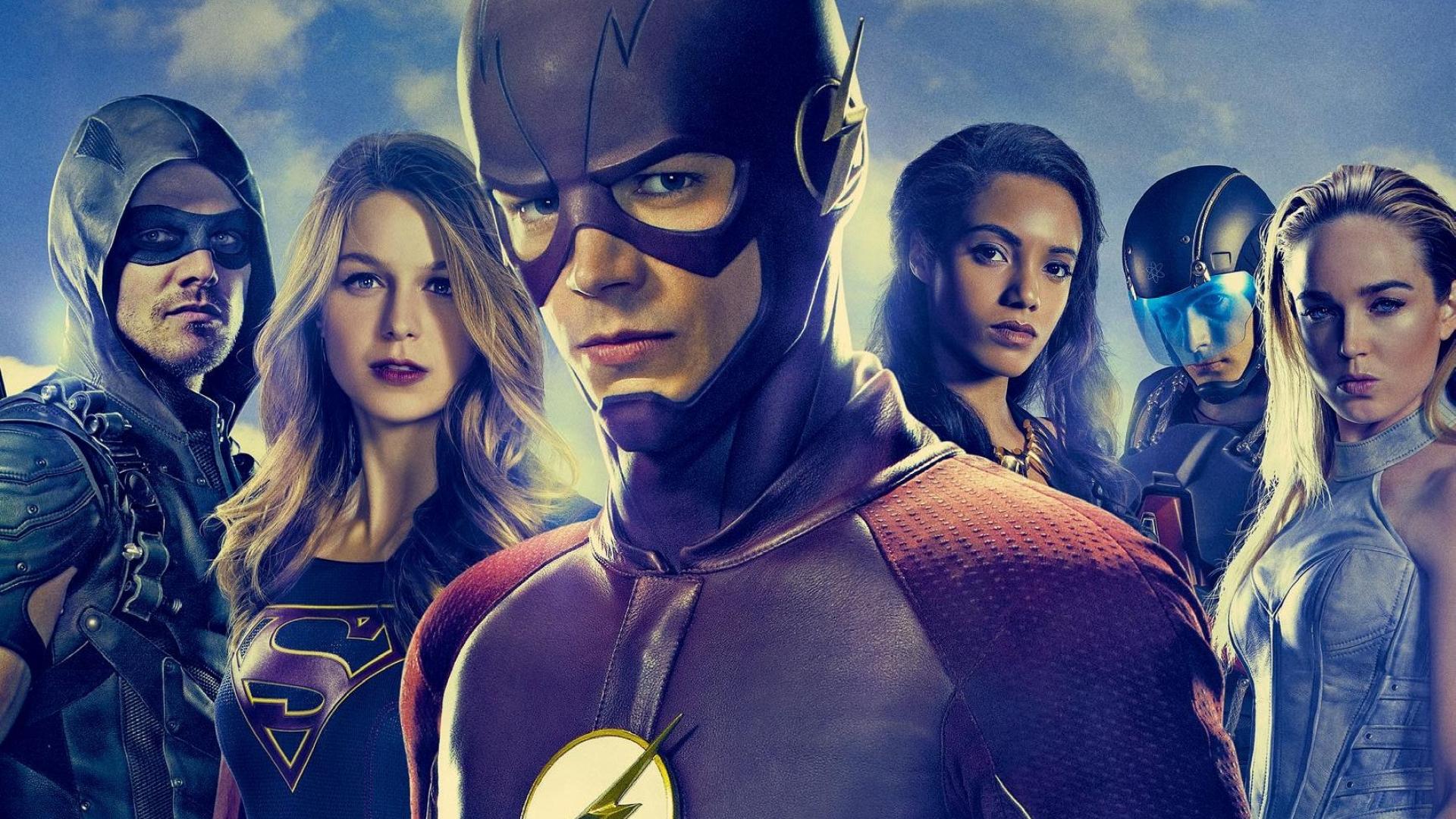 1920x1080 Dc Tv Superheros Flash Supergirl Arrow 1080p Laptop Full