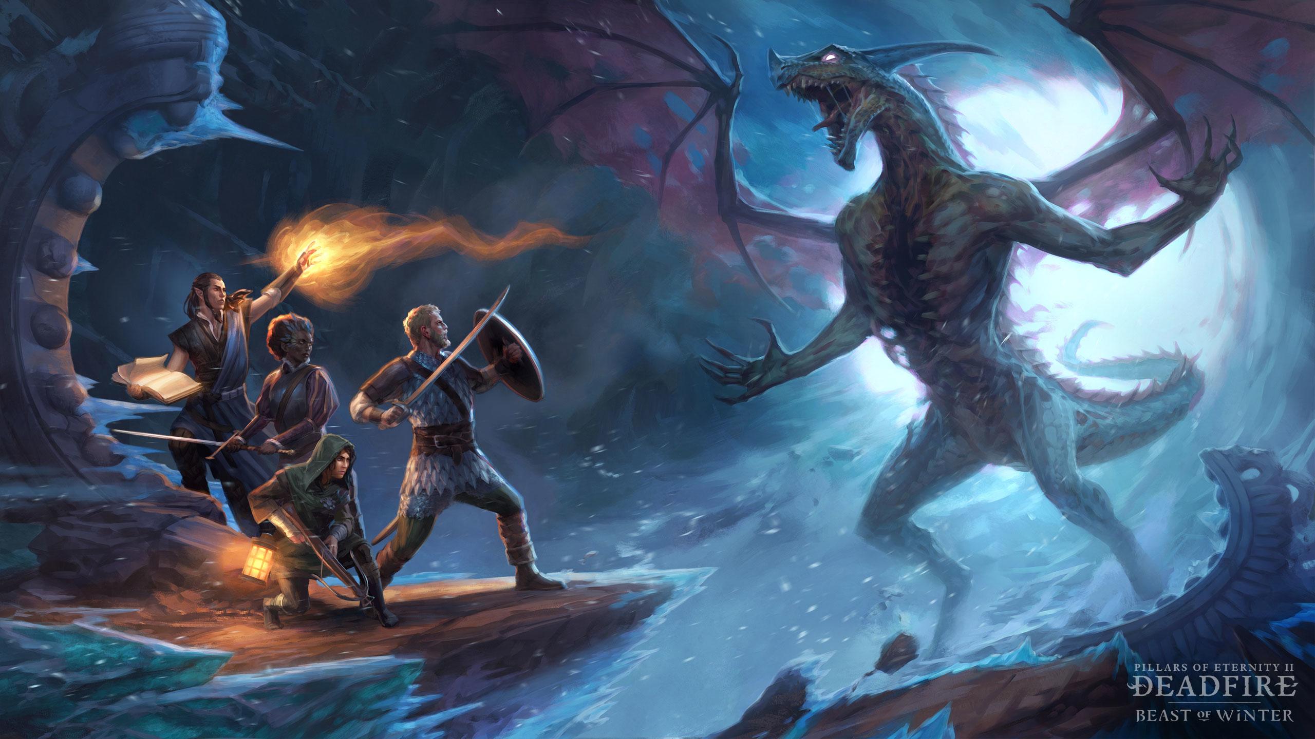 Deadfire Pillars Of Eternity Wallpaper Hd Games 4k Wallpapers