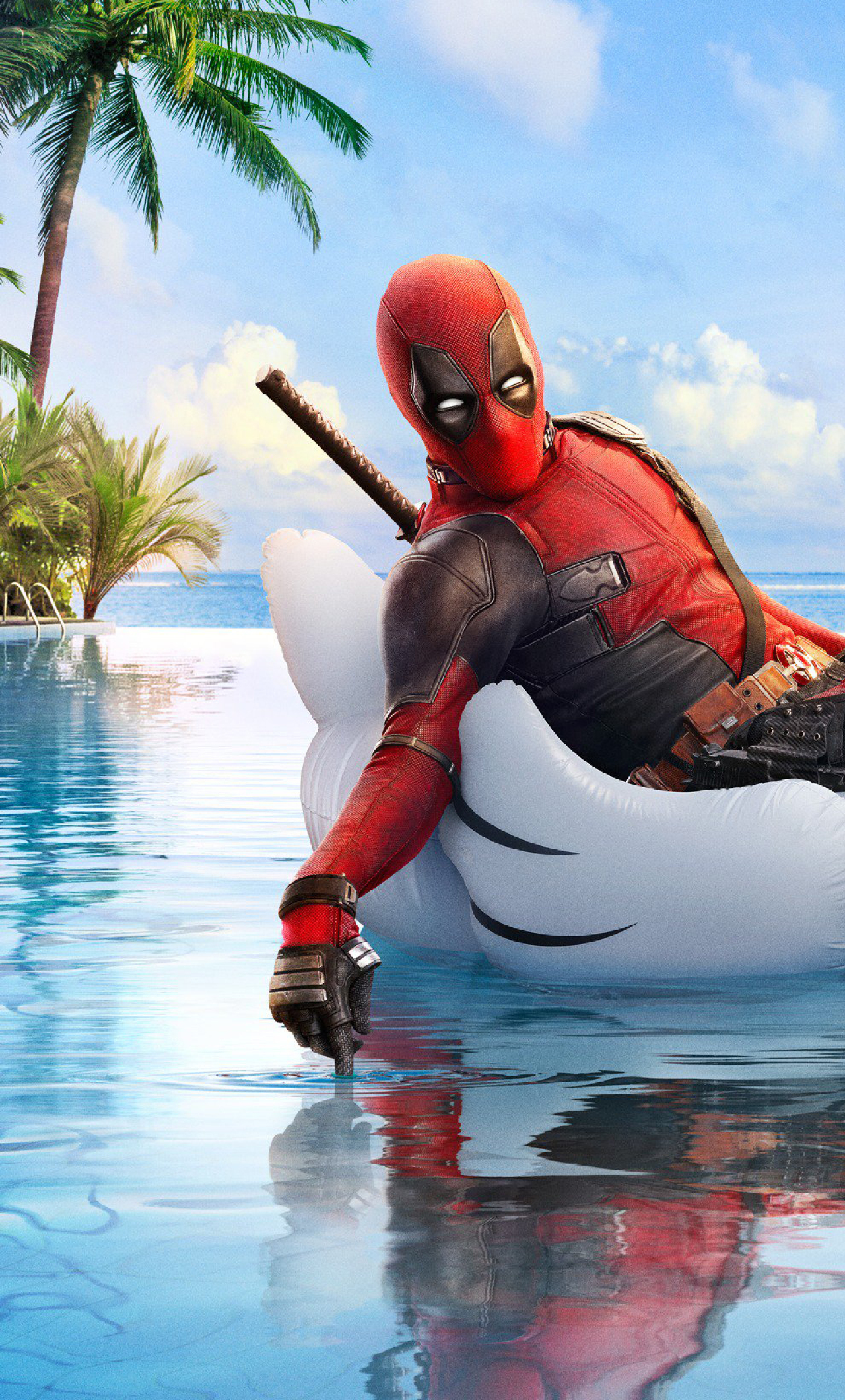 Deadpool 2 Funny Poster, Full HD 2K Wallpaper