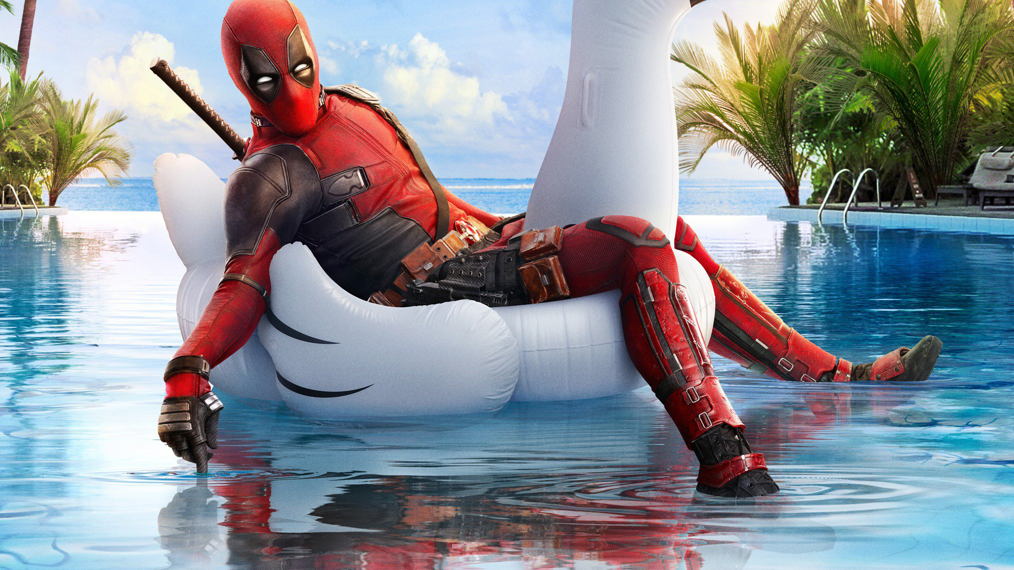Best Dual Sport >> Deadpool 2 Funny Poster, Full HD 2K Wallpaper