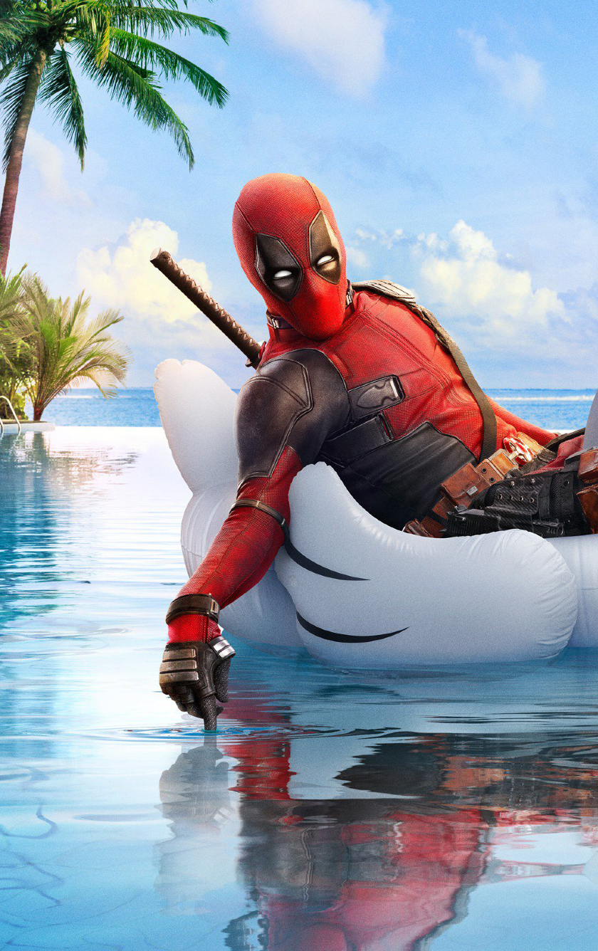 Download Deadpool 2 Funny Poster 2560x1024 Resolution ...