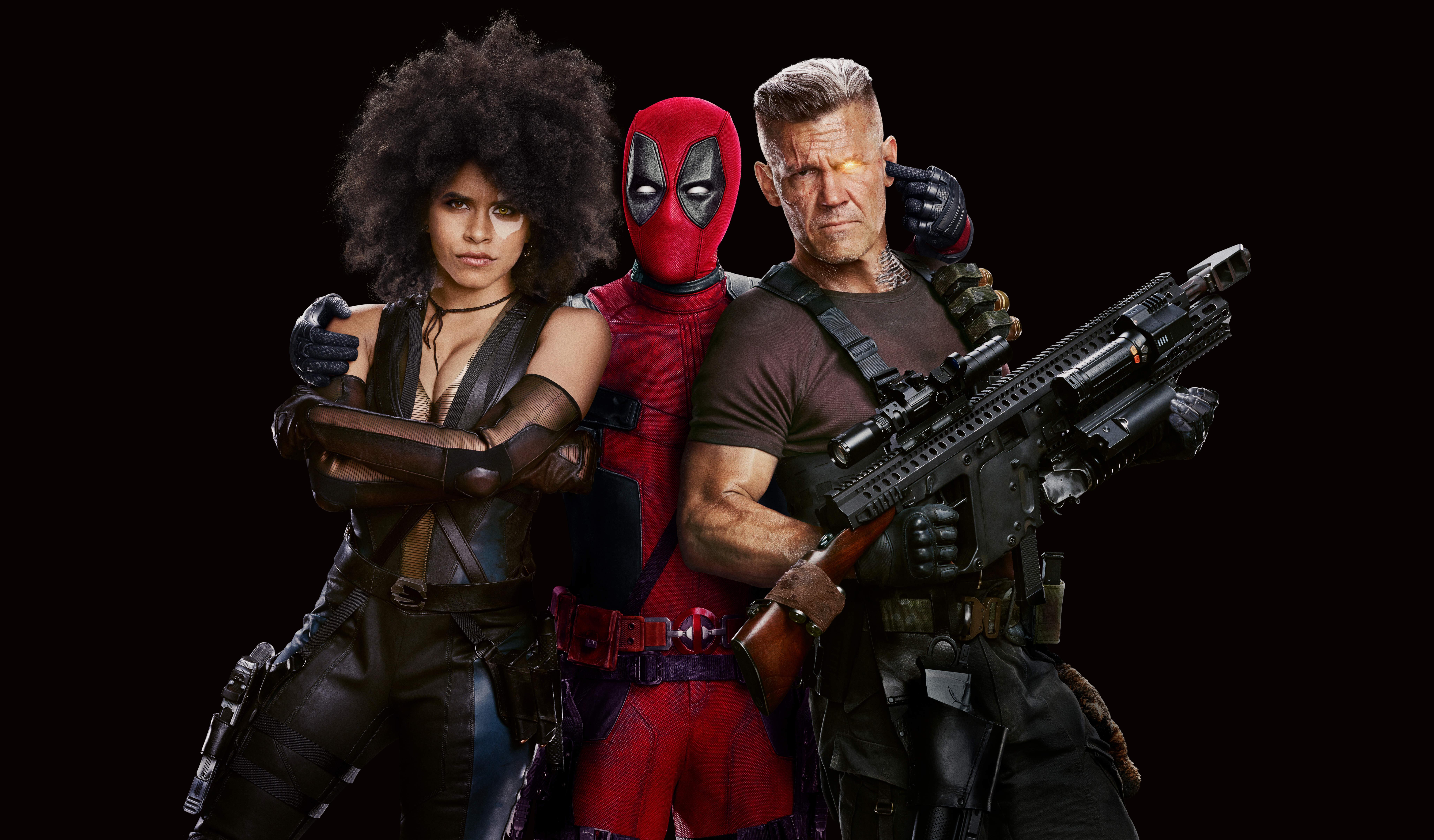 Deadpool 2 Movie Poster Wallpaper, HD