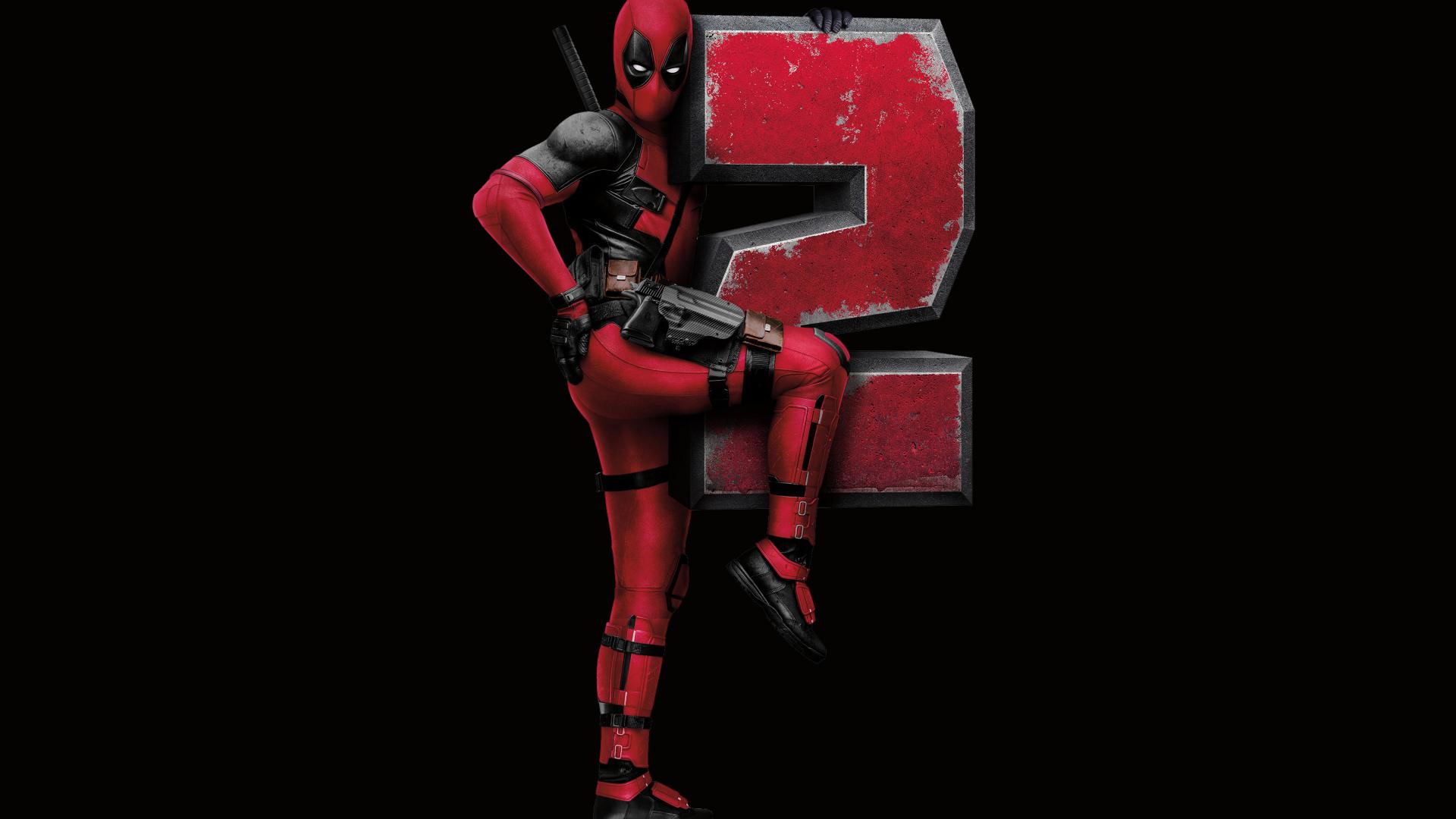 Download Deadpool 2 Ryan Reynolds Poster 1920x1080