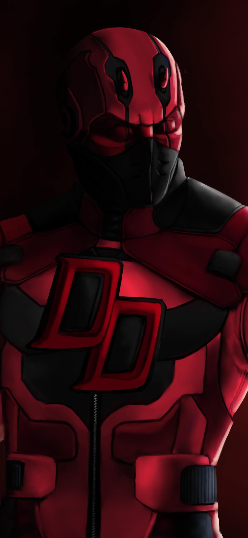 1080x2340 Deadpool Daredevil Marvel Comics 4k 1080x2340