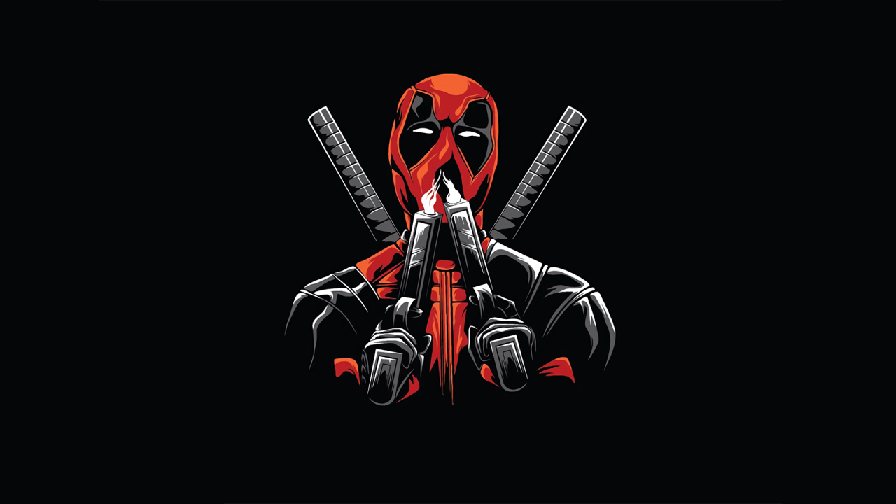 1280x720 Deadpool Minimal 720p Wallpaper Hd Superheroes 4k Wallpapers Images Photos And Background