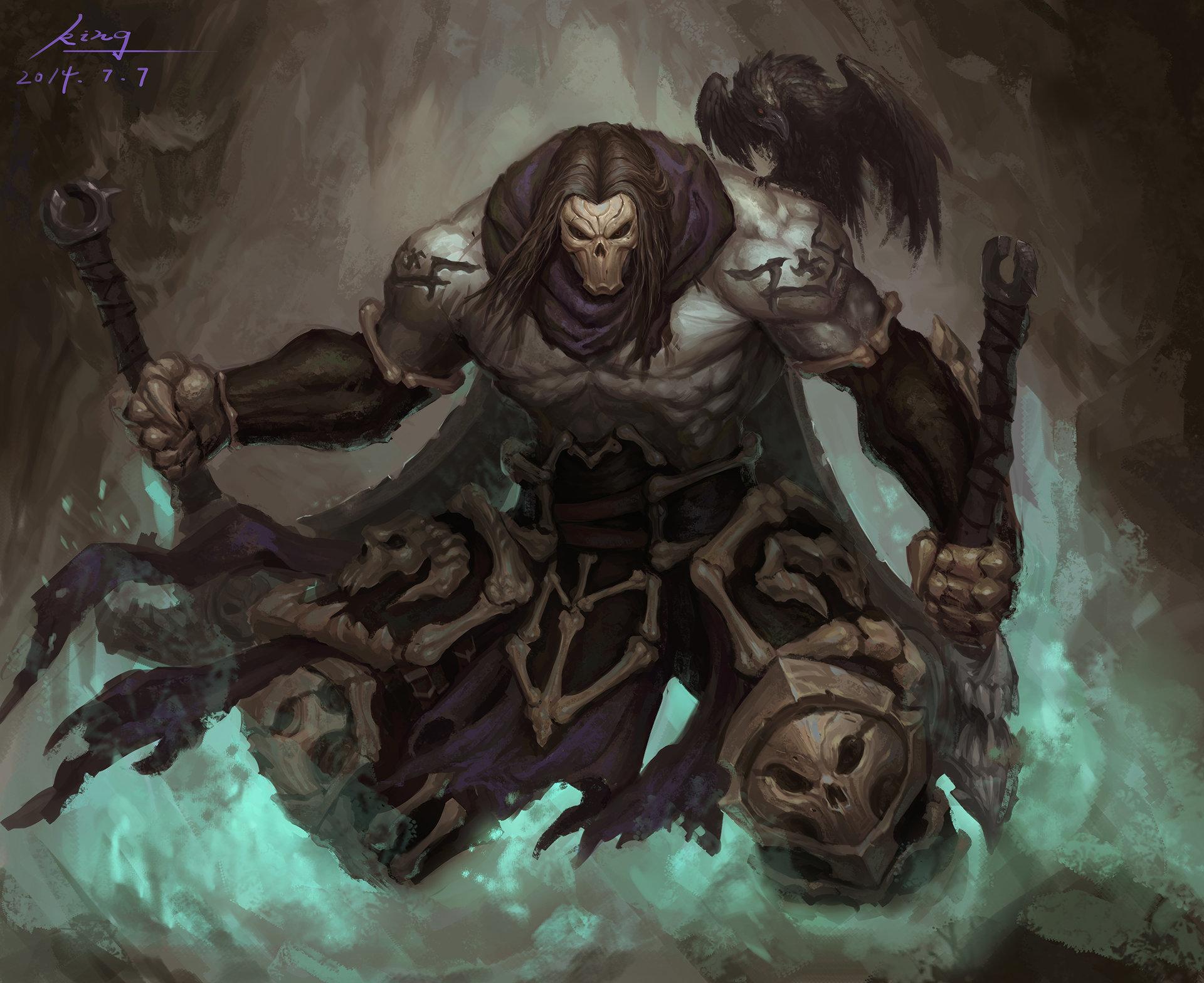 Death In Darksiders 2 Wallpaper Hd Games 4k Wallpapers