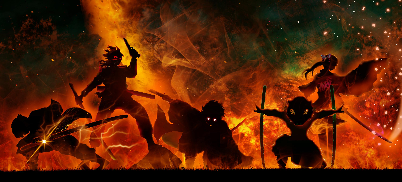 Demon Slayer Art Wallpaper, HD Anime 4K Wallpapers, Images ...