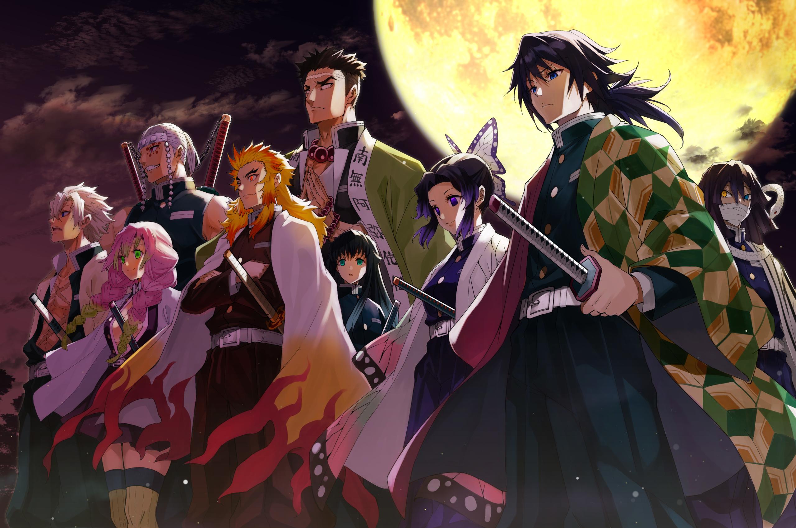 2560x1700 Demon Slayer Kimetsu no Yaiba 4K Characters ...