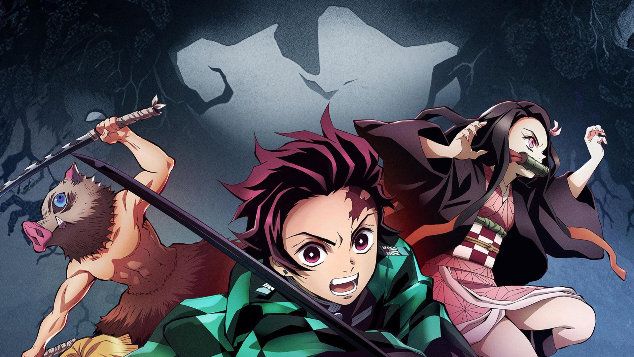 2560x1440 Demon Slayer 1440p Resolution Wallpaper Hd Anime
