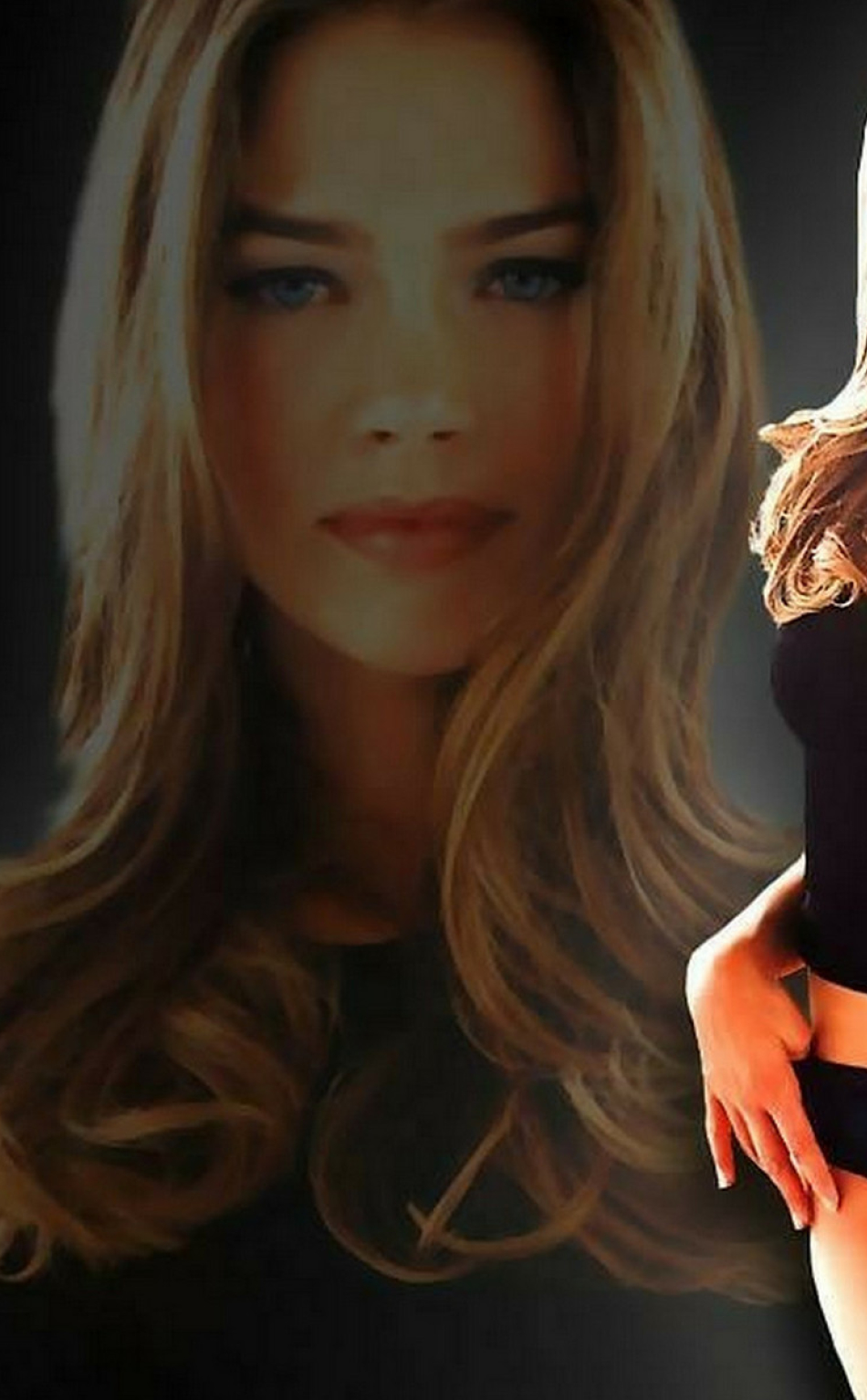 Denise Richards Sexy Poster Photoshoot Full Hd Wallpaper