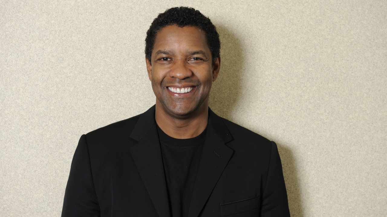 Denzel washington photo shoot