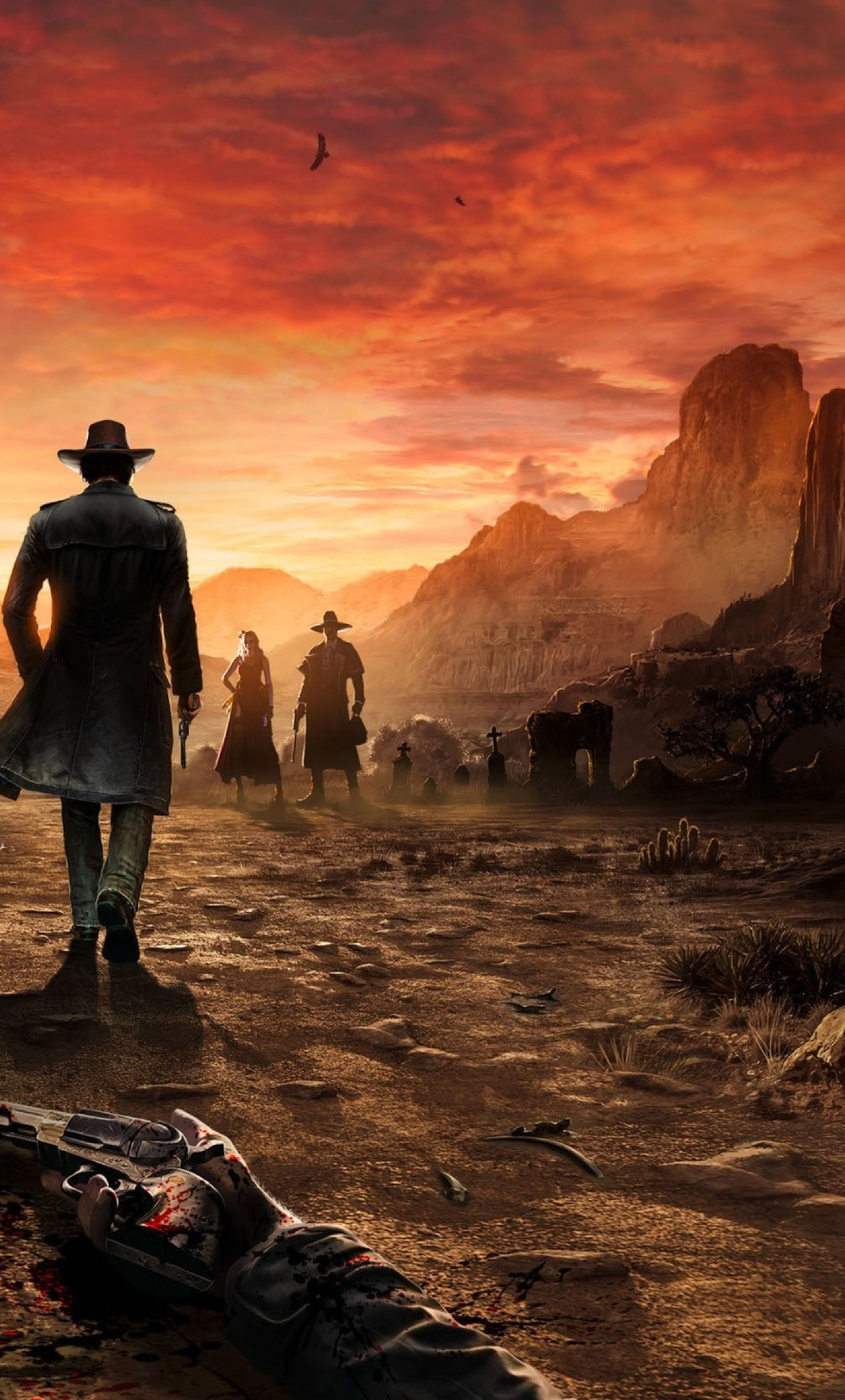 1280x2120 Desperados Iii Game 2018 Iphone 6 Plus Wallpaper Hd Games 4k Wallpapers Images Photos And Background