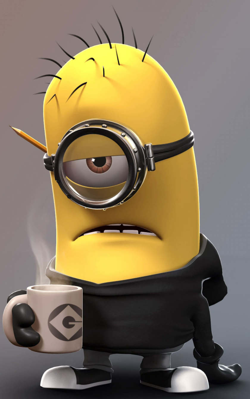 Despicable Me Angry Minion, HD 4K Wallpaper