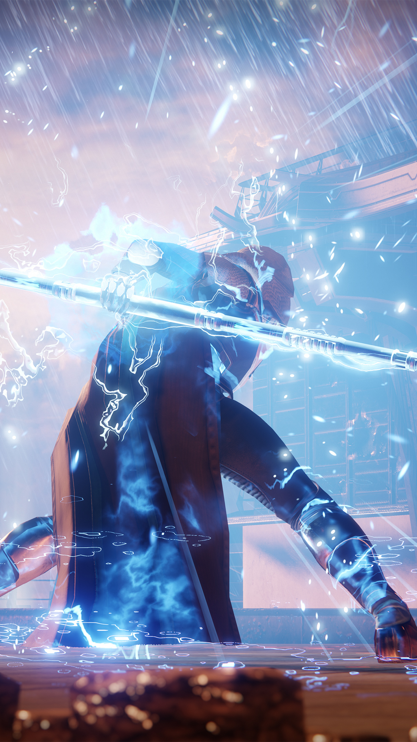Destiny 2 The Arcstrider Hunter HD 4K Wallpaper