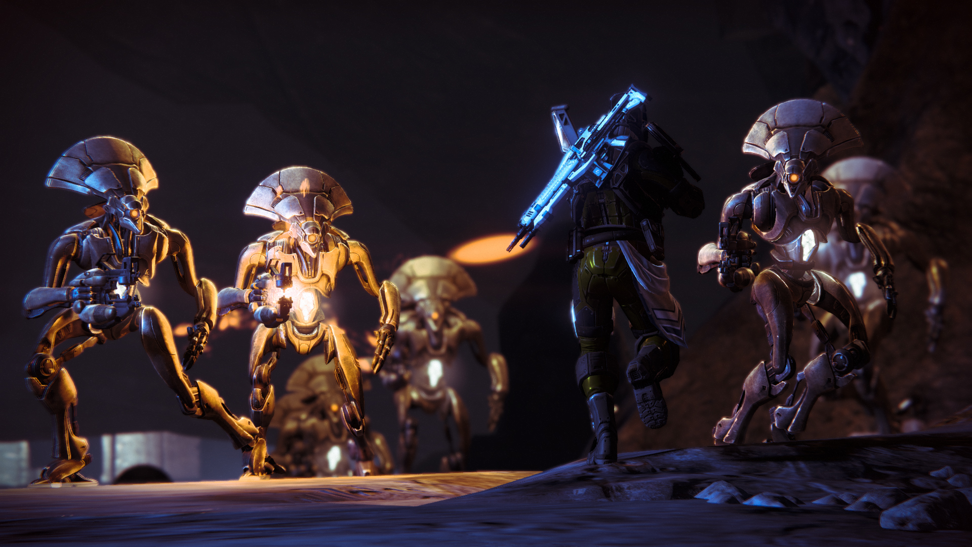 Destiny Game Characters Full HD Wallpaper