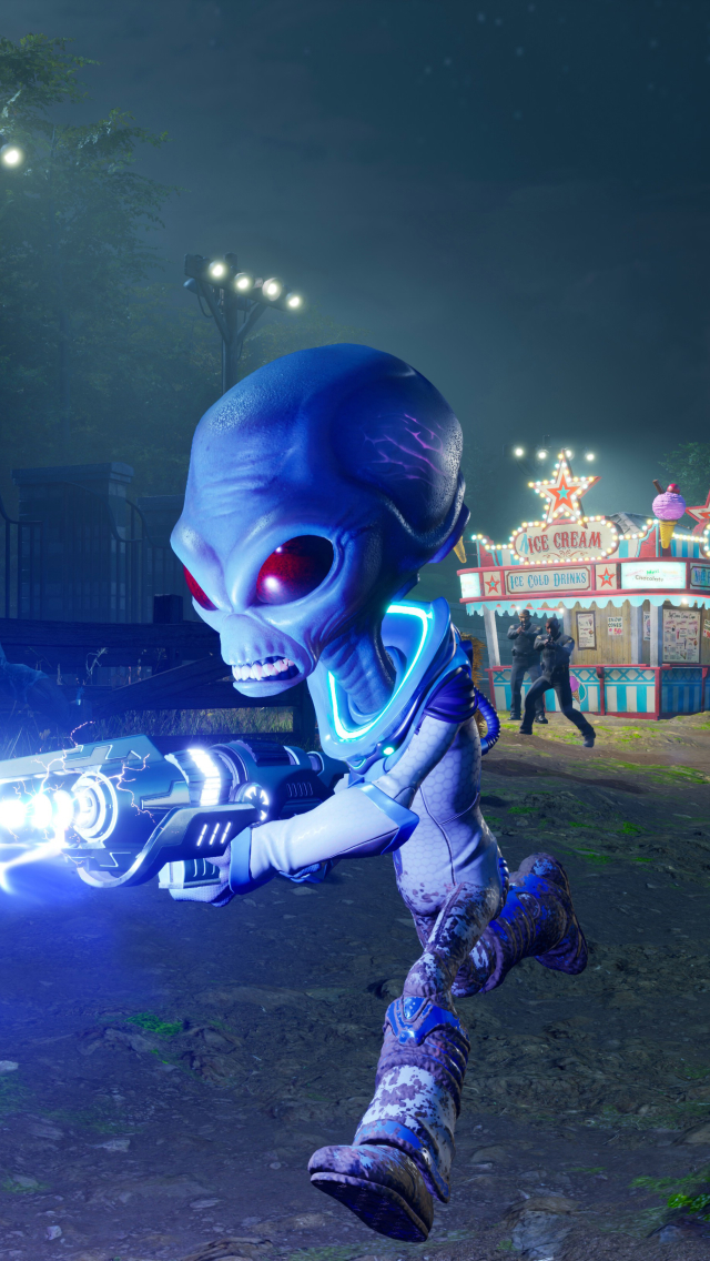 Destroy All Humans 2020 Wallpaper in 640x1136 Resolution