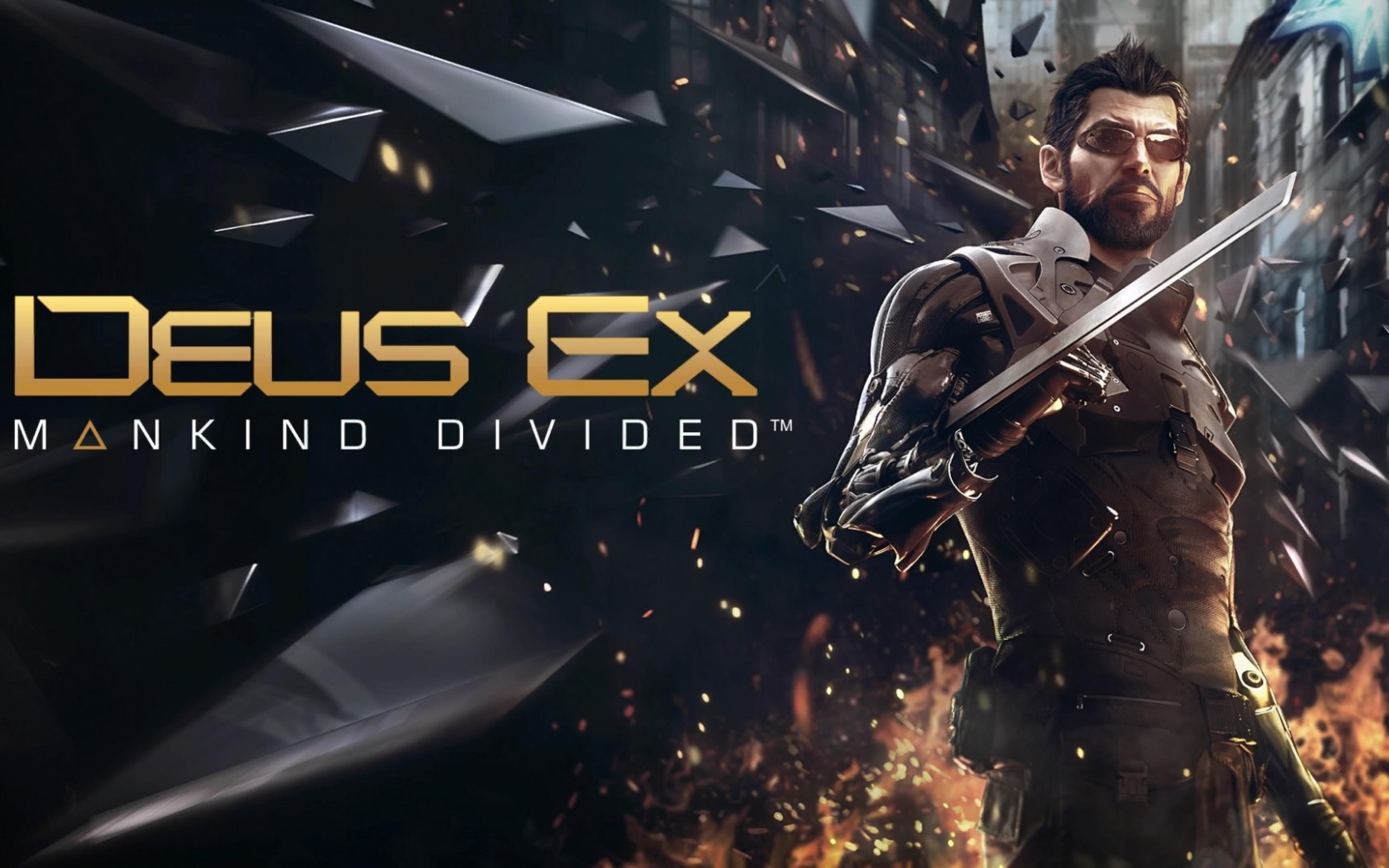 3840x2400 Deus Ex Mankind Divided Adam Jensen 4k 3840x2400