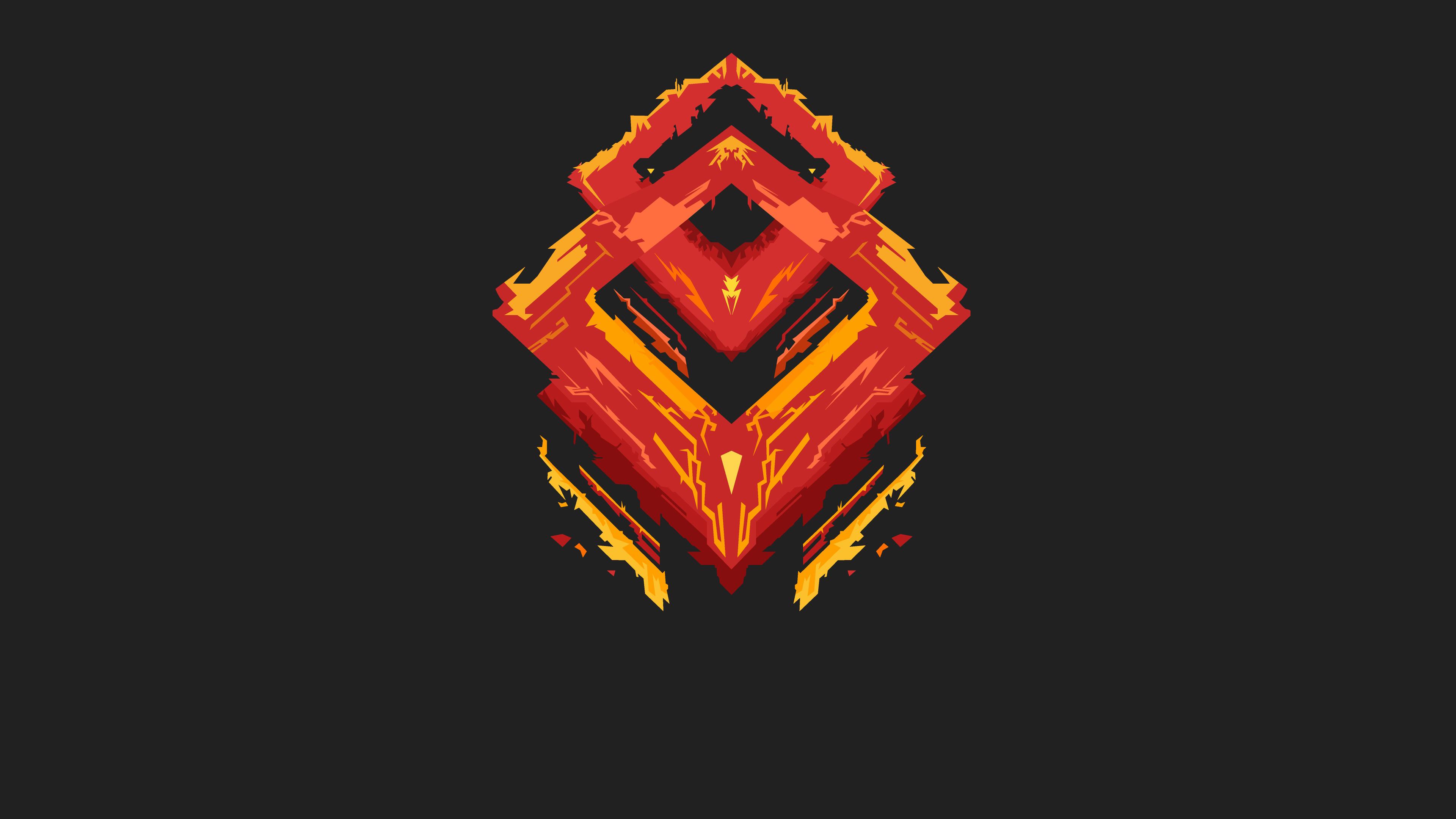 Download Devil Logo Minimalism 3840x2160 Resolution, HD 4K ...